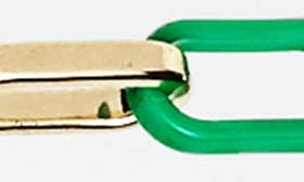 Kelly Green/ Gold swatch image