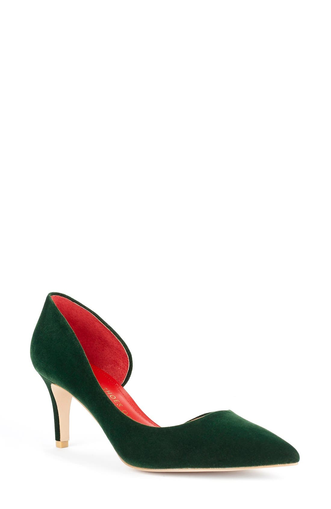 Alternate Image 1 Selected - Shoes of Prey x Kim Jones La Dolce Vita Collection Half d'Orsay Pump (Women)