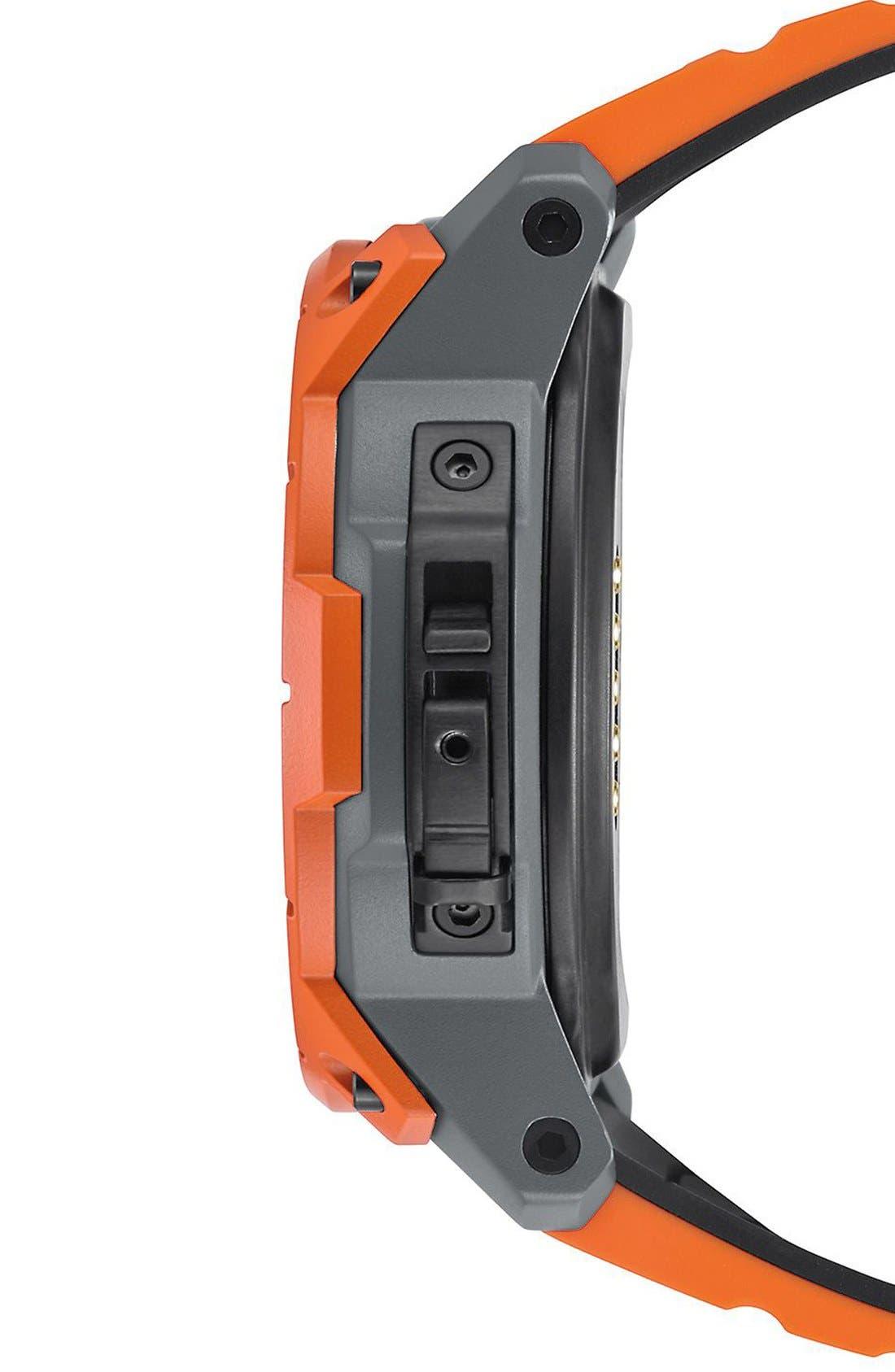 Mission Ana-Digi Smart Watch, 48mm,                             Alternate thumbnail 4, color,                             Orange/ Black