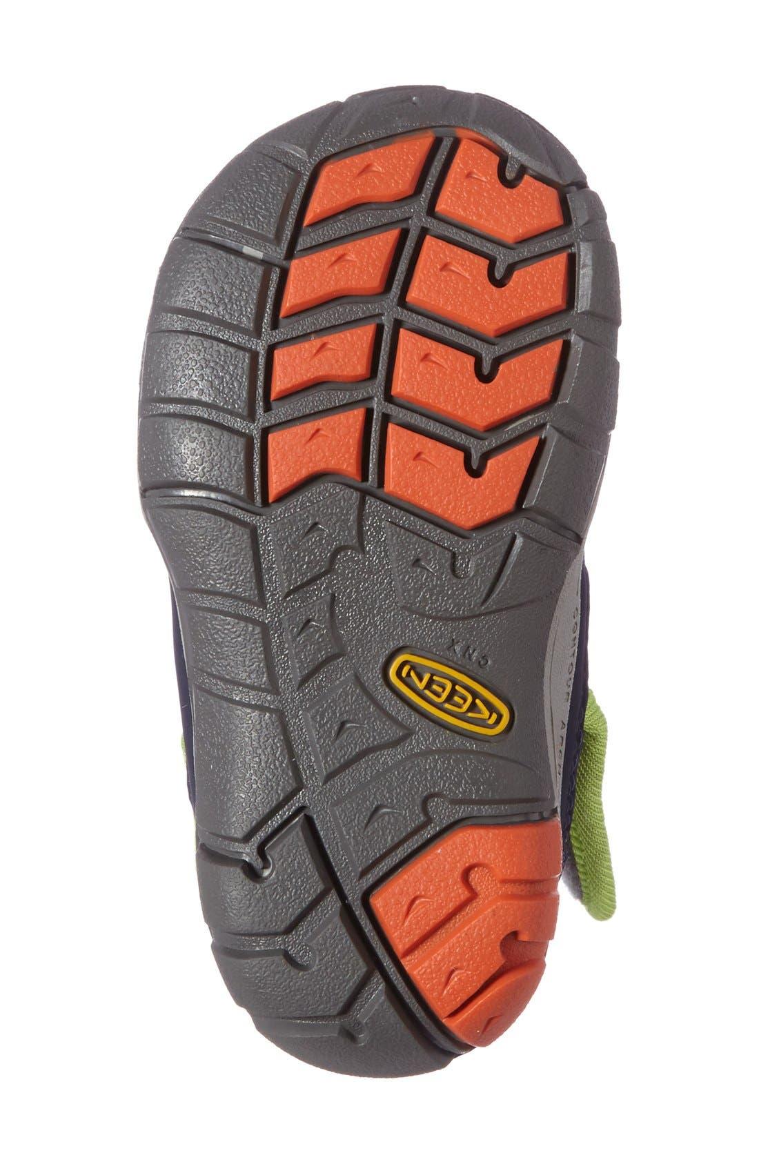 Alternate Image 4  - Keen Peek-A-Boot Fleece Lined Boot (Baby & Walker)