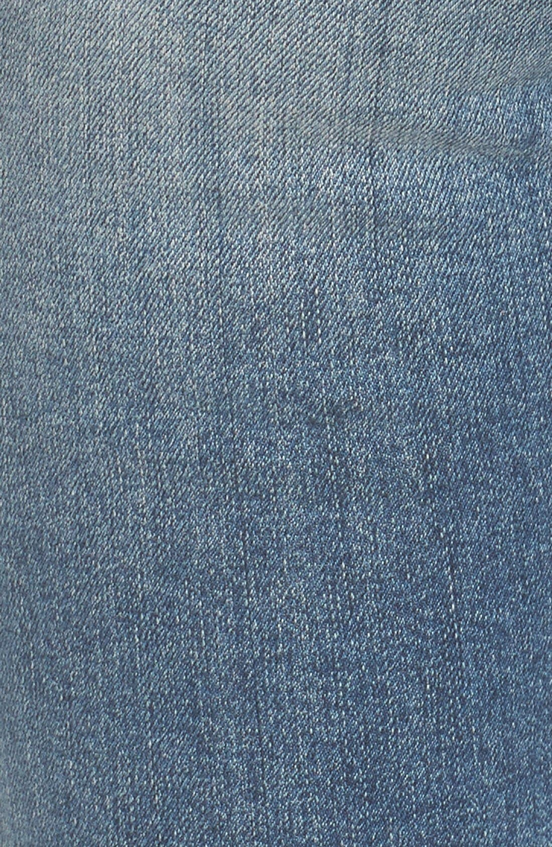 Alternate Image 6  - STS Blue Piper Athletic Stripe Skinny Jeans (West Oakville)