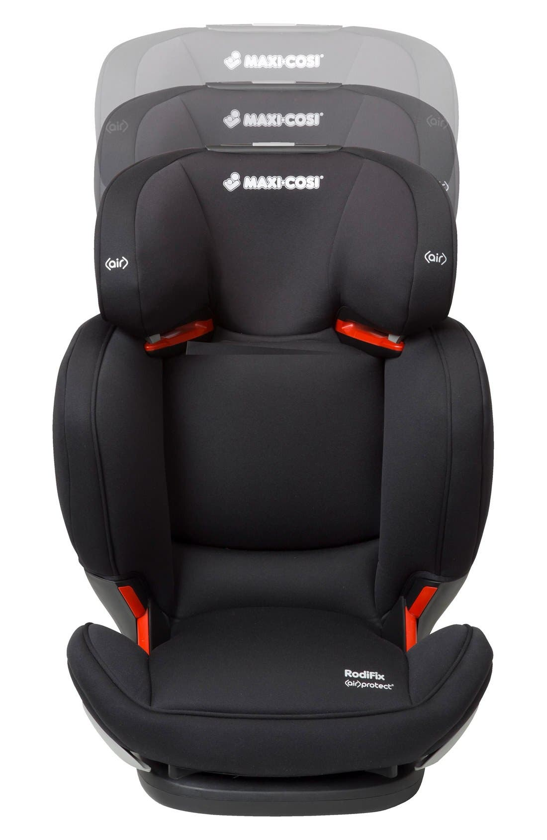 RodiFix Booster Car Seat,                             Alternate thumbnail 3, color,                             Black