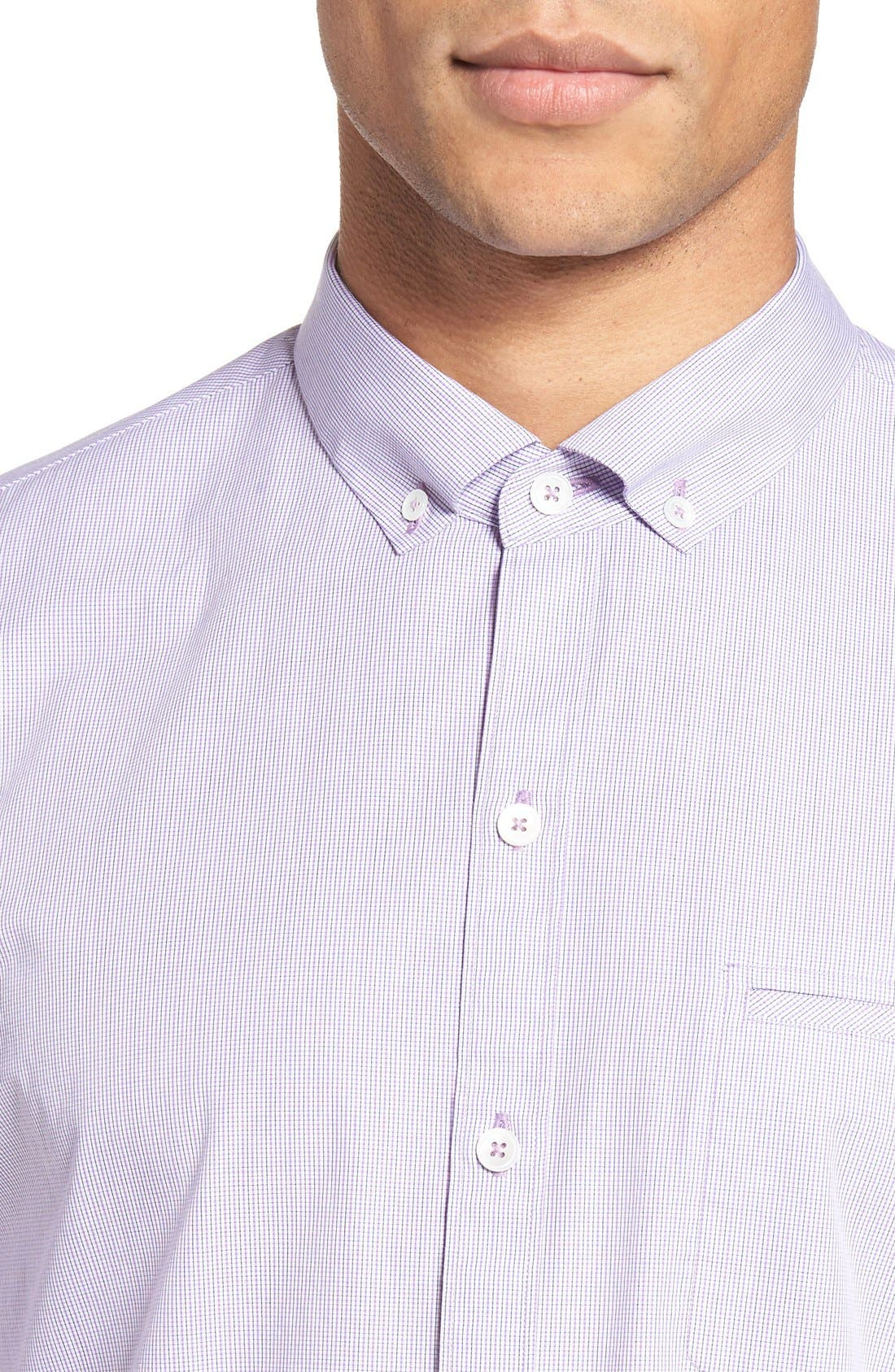 Alternate Image 4  - Zachary Prell Friswold Slim Fit Plaid Sport Shirt