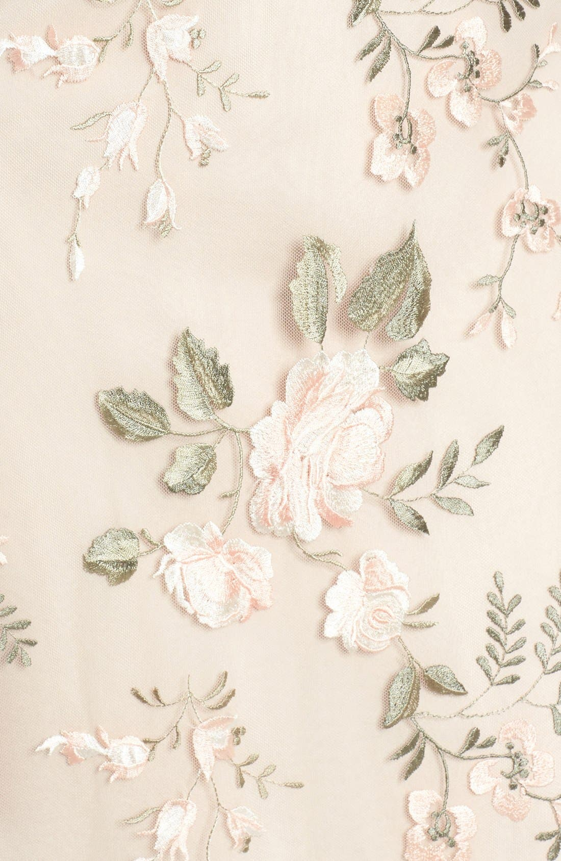 Alternate Image 6  - Jenny Yoo Julianna Embroidered Gown