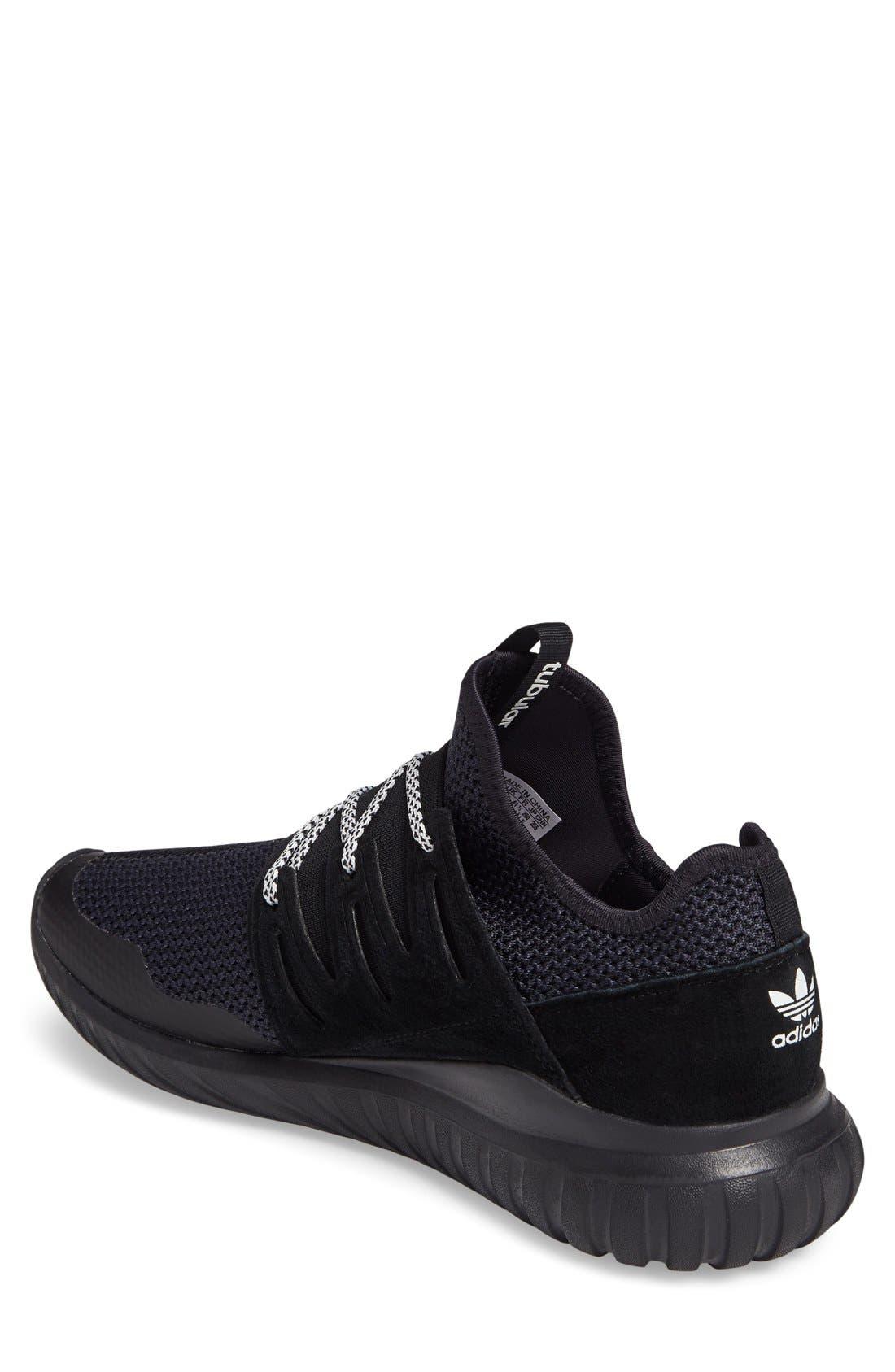Alternate Image 2  - adidas 'Tubular Radial' Sneaker (Men)