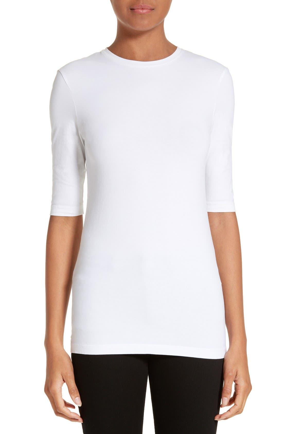 Idra Tee,                         Main,                         color, Optic White