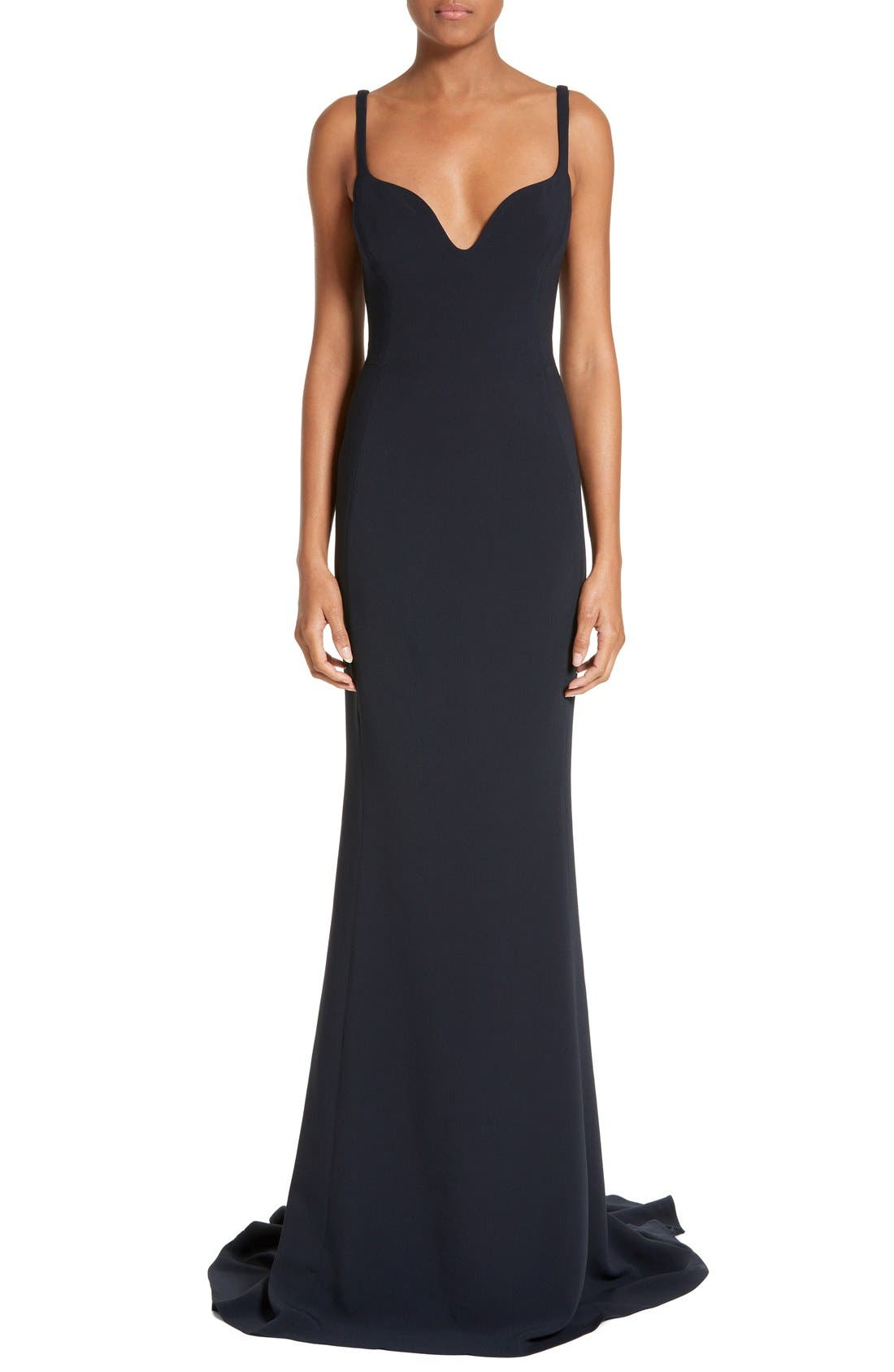 Alternate Image 1 Selected - Stella McCartney Sweetheart Neckline Gown