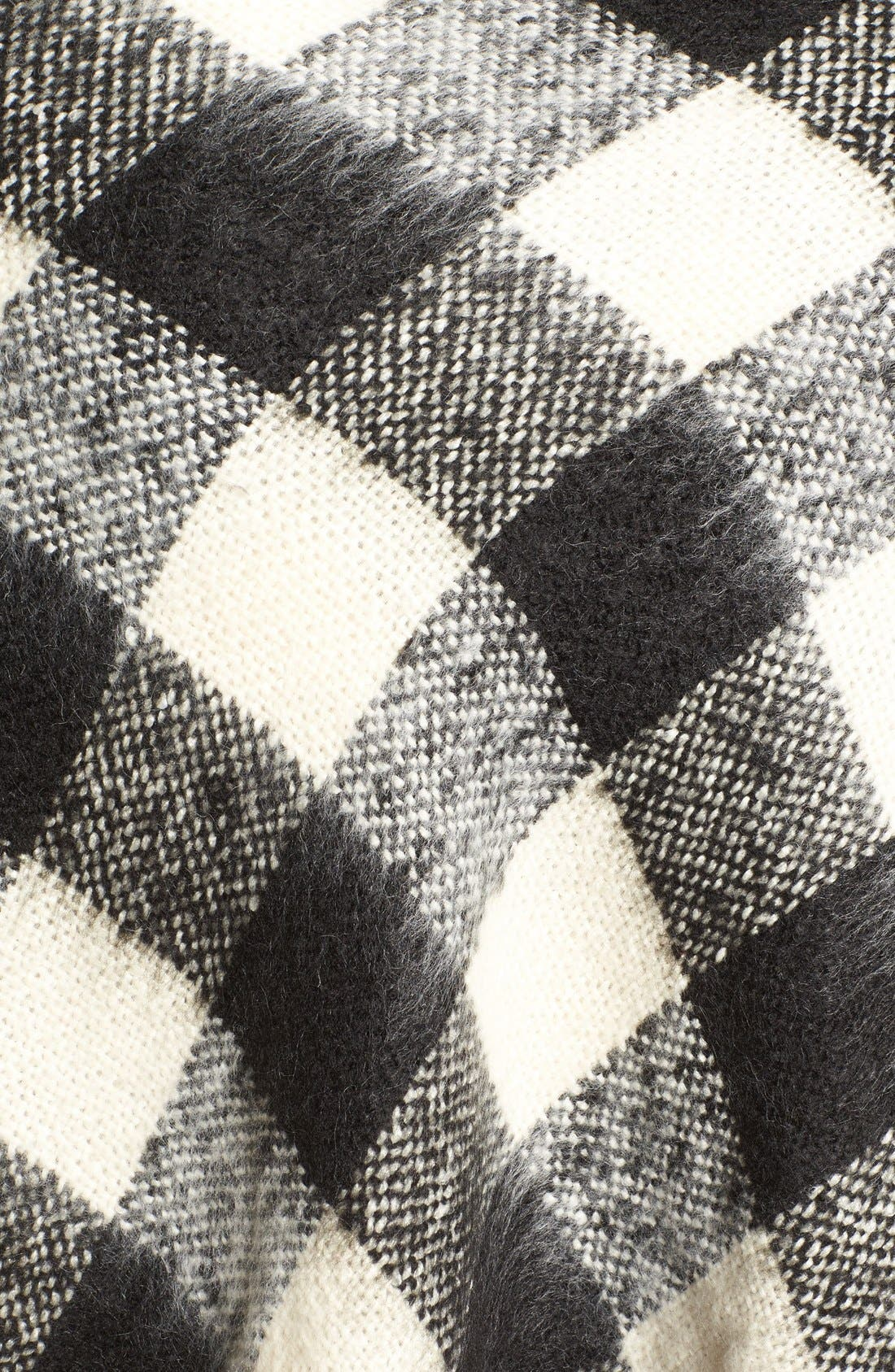 Alternate Image 5  - Treasure&Bond Buffalo Check Blanket Wrap
