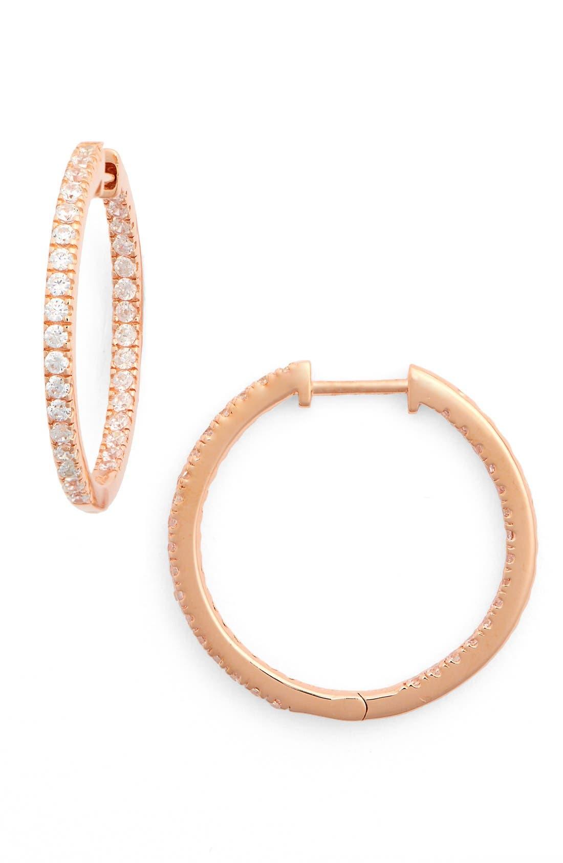 Nordstrom Inside Out Hoop Earrings