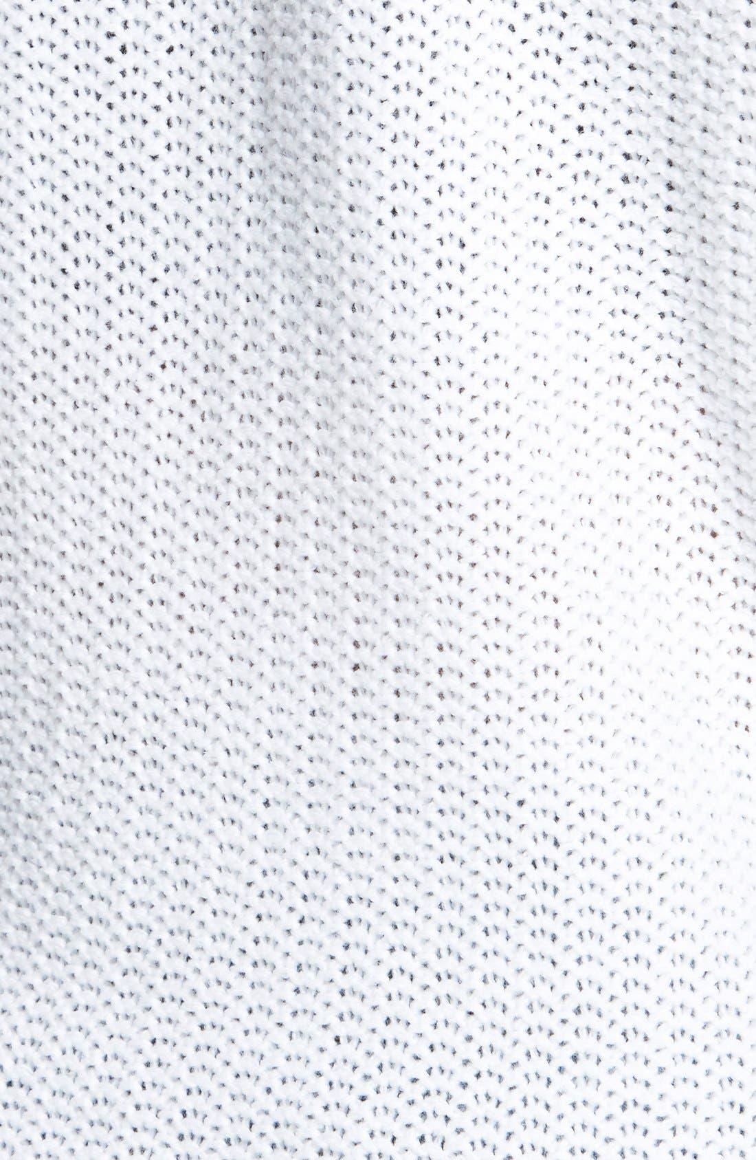 Alternate Image 3  - Derek Heart Deep V-Neck Sweater (Juniors)