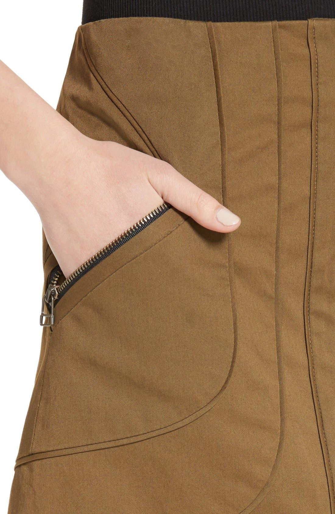 Alternate Image 4  - Veronica Beard Linda Cargo Skirt