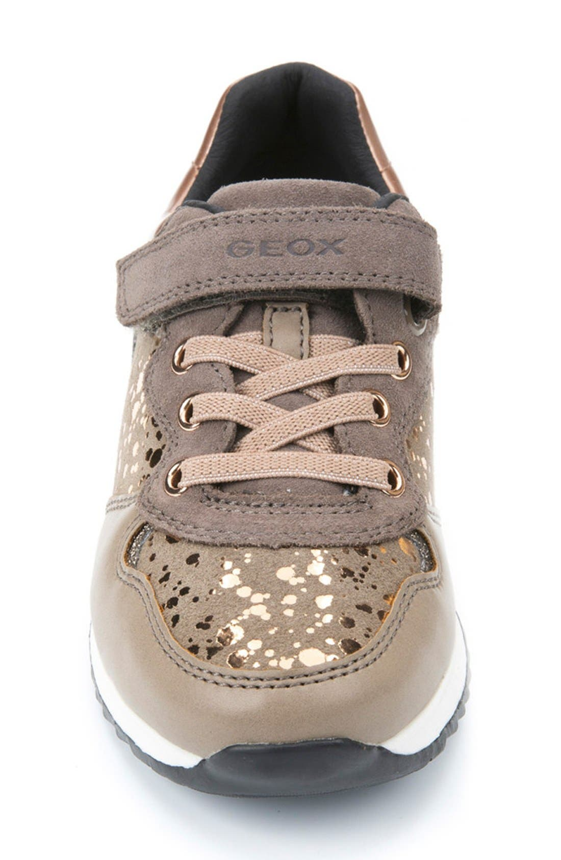 Maisie Sneaker,                             Alternate thumbnail 4, color,                             Dark Beige