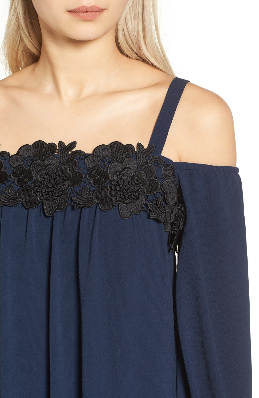 Alternate Image 5  - Chelsea28 Cold Shoulder Dress