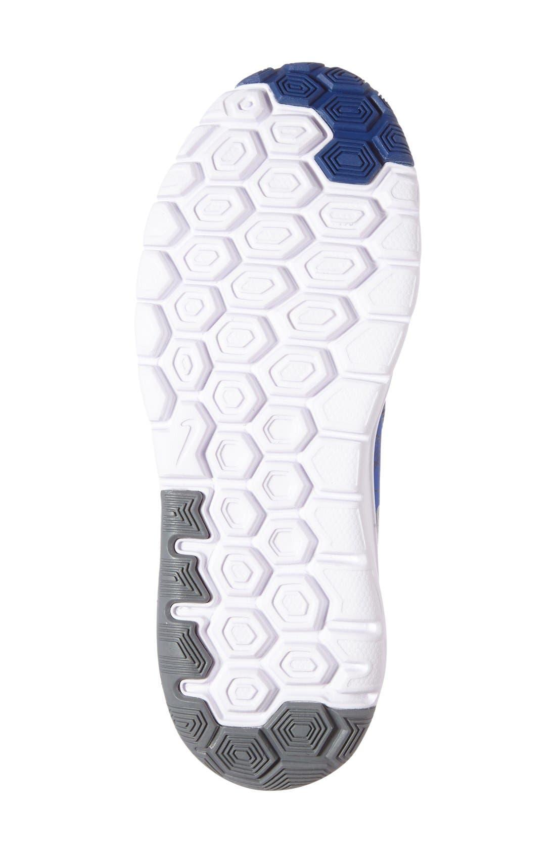 Alternate Image 4  - Nike 'Flex Experience 5 Print' Running Shoe (Toddler & Little Kid)