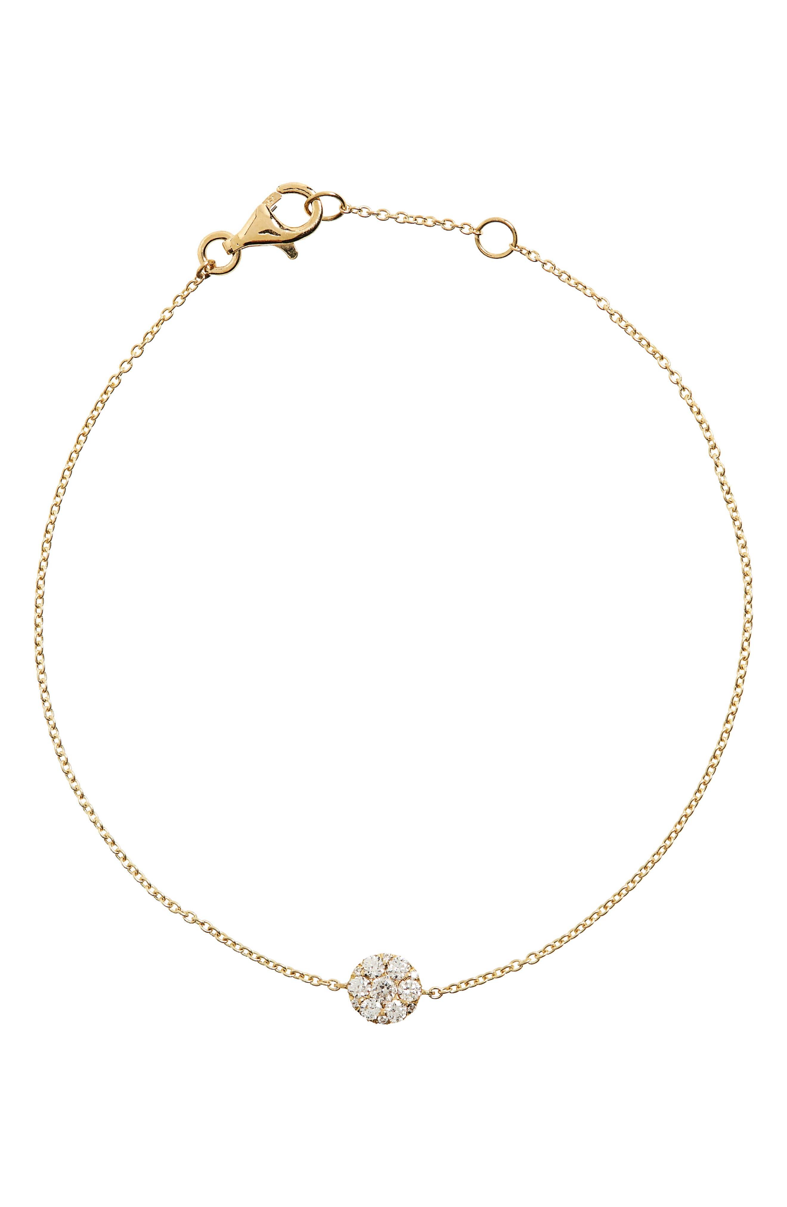 Bony Levy Diamond Station Bracelet