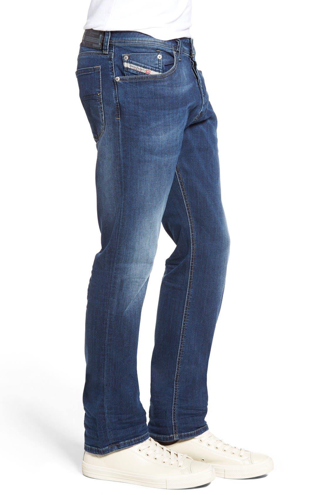 Waykee Straight Leg Jeans,                             Alternate thumbnail 3, color,                             0679I