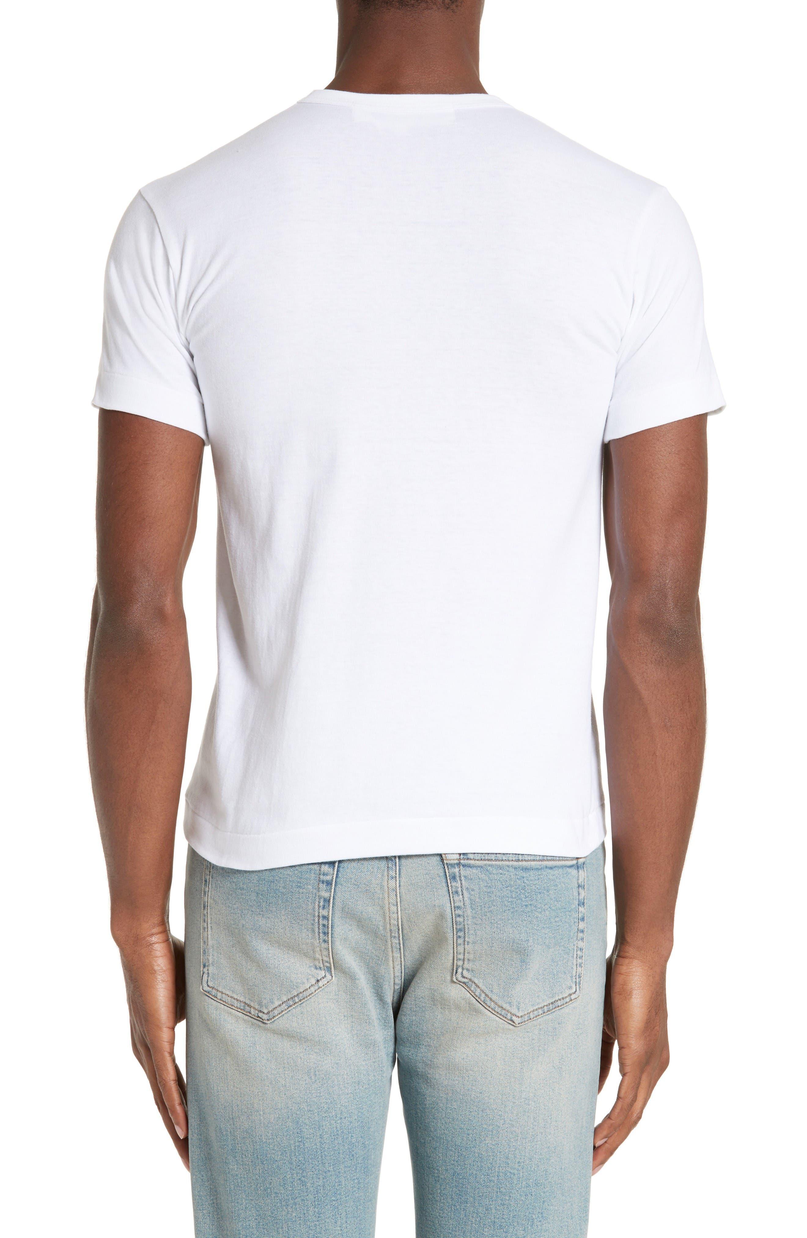 Alternate Image 2  - Comme des Garçons PLAY Graphic T-Shirt with Heart Appliqué