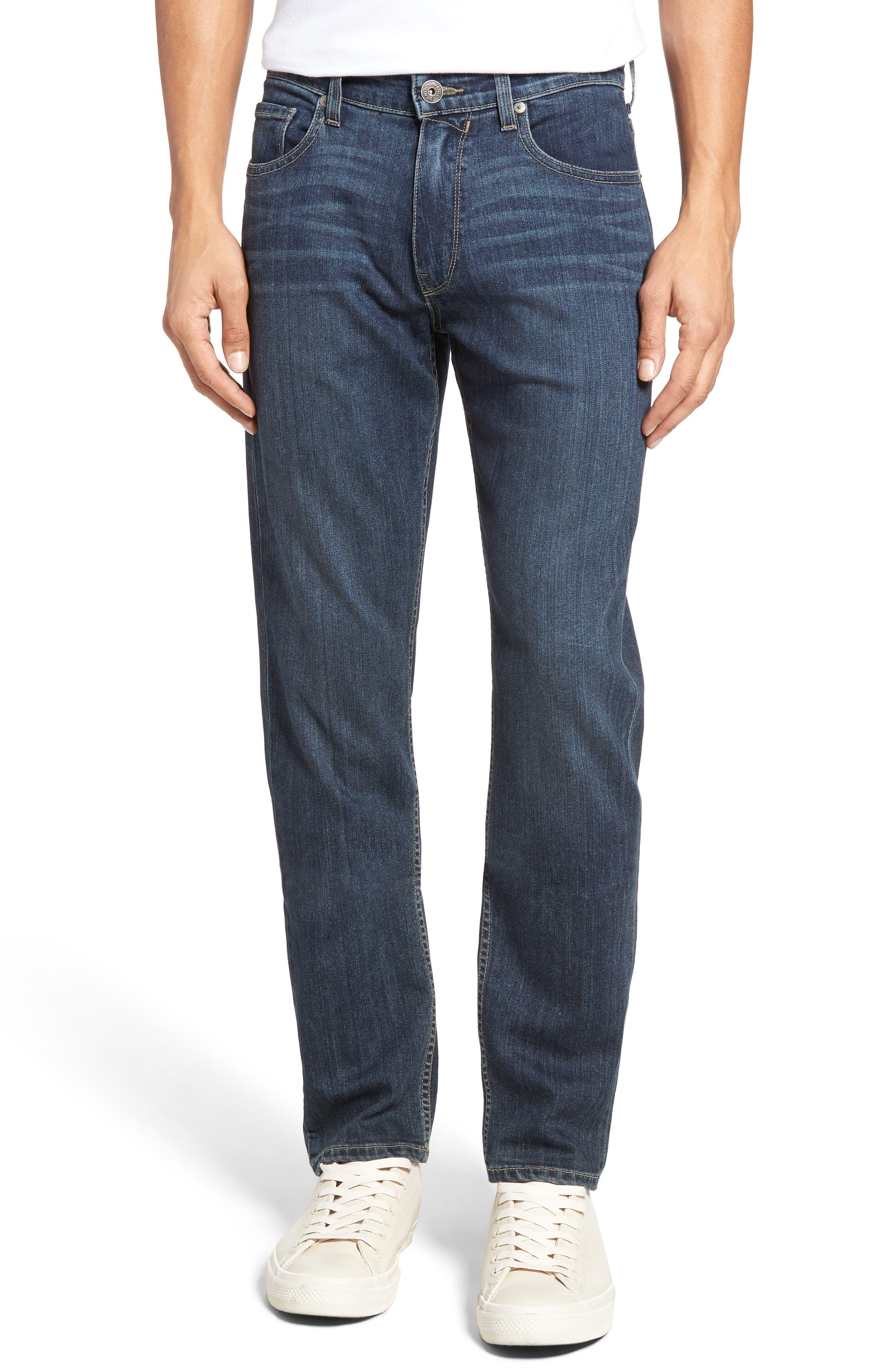Main Image - PAIGE Transcend - Federal Slim Straight Leg Jeans (Wayne)