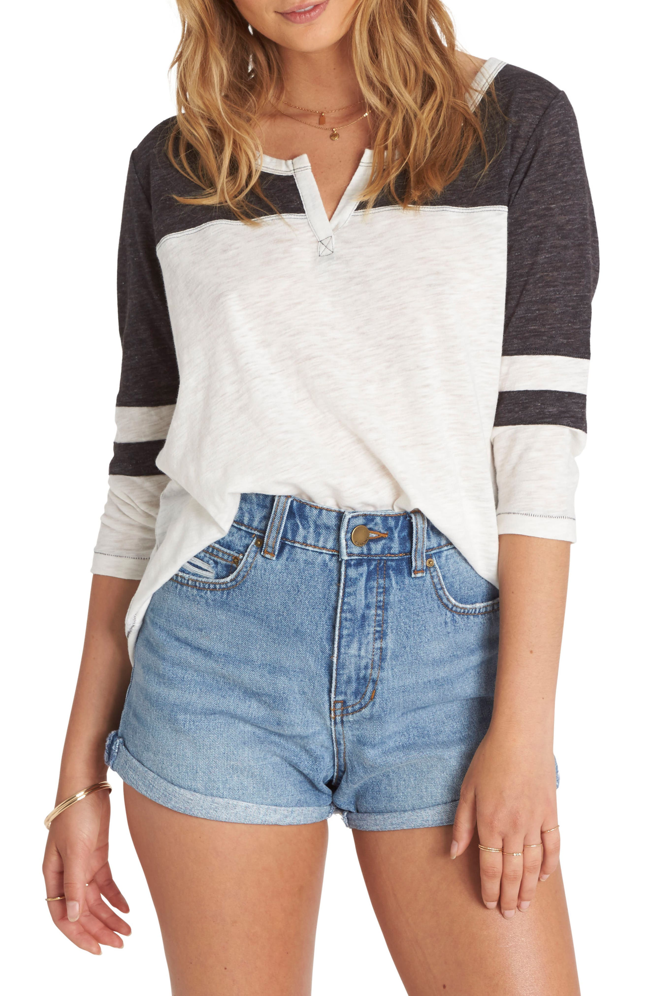 Alternate Image 1 Selected - Billabong Your Side Knit Tee