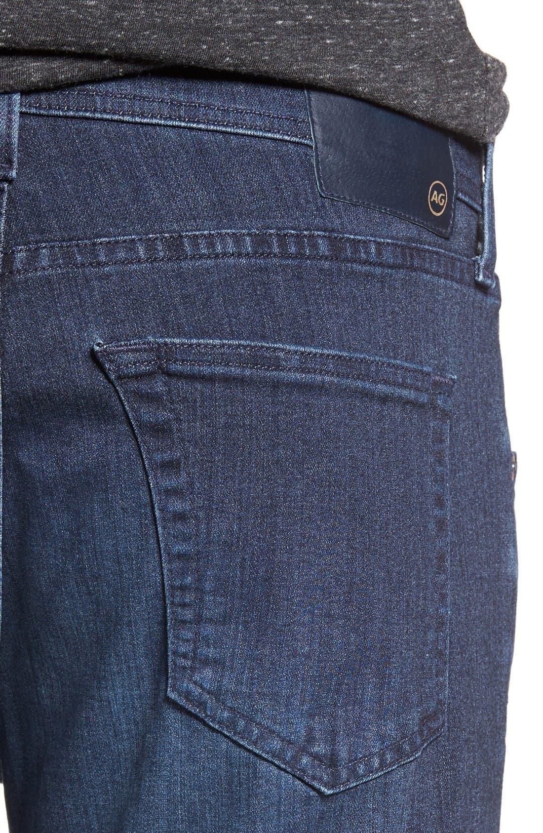 Alternate Image 4  - AG Tellis Slim Fit Jeans (Kast)
