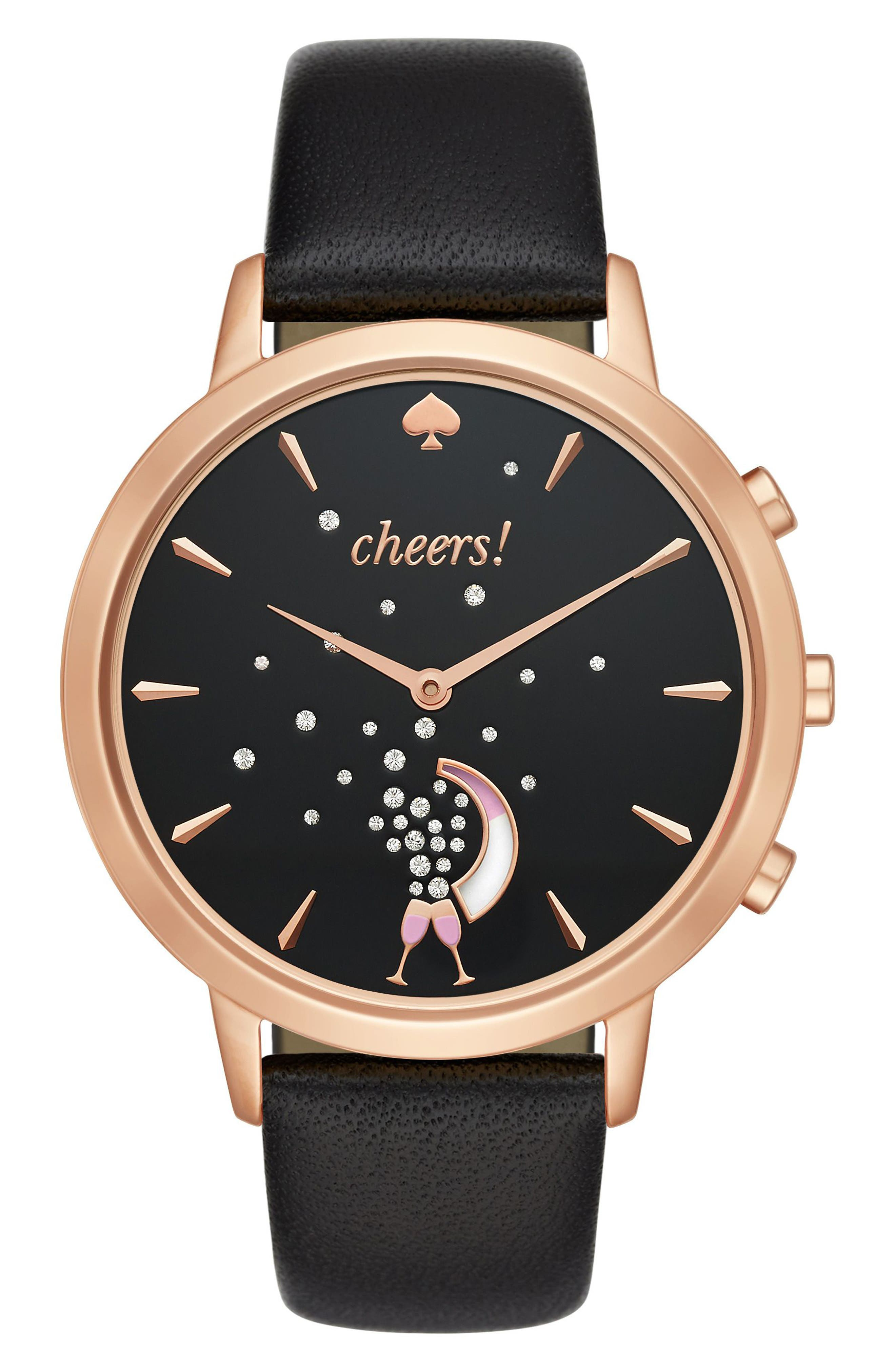 Alternate Image 1 Selected - kate spade new york metro grand smart watch, 40mm