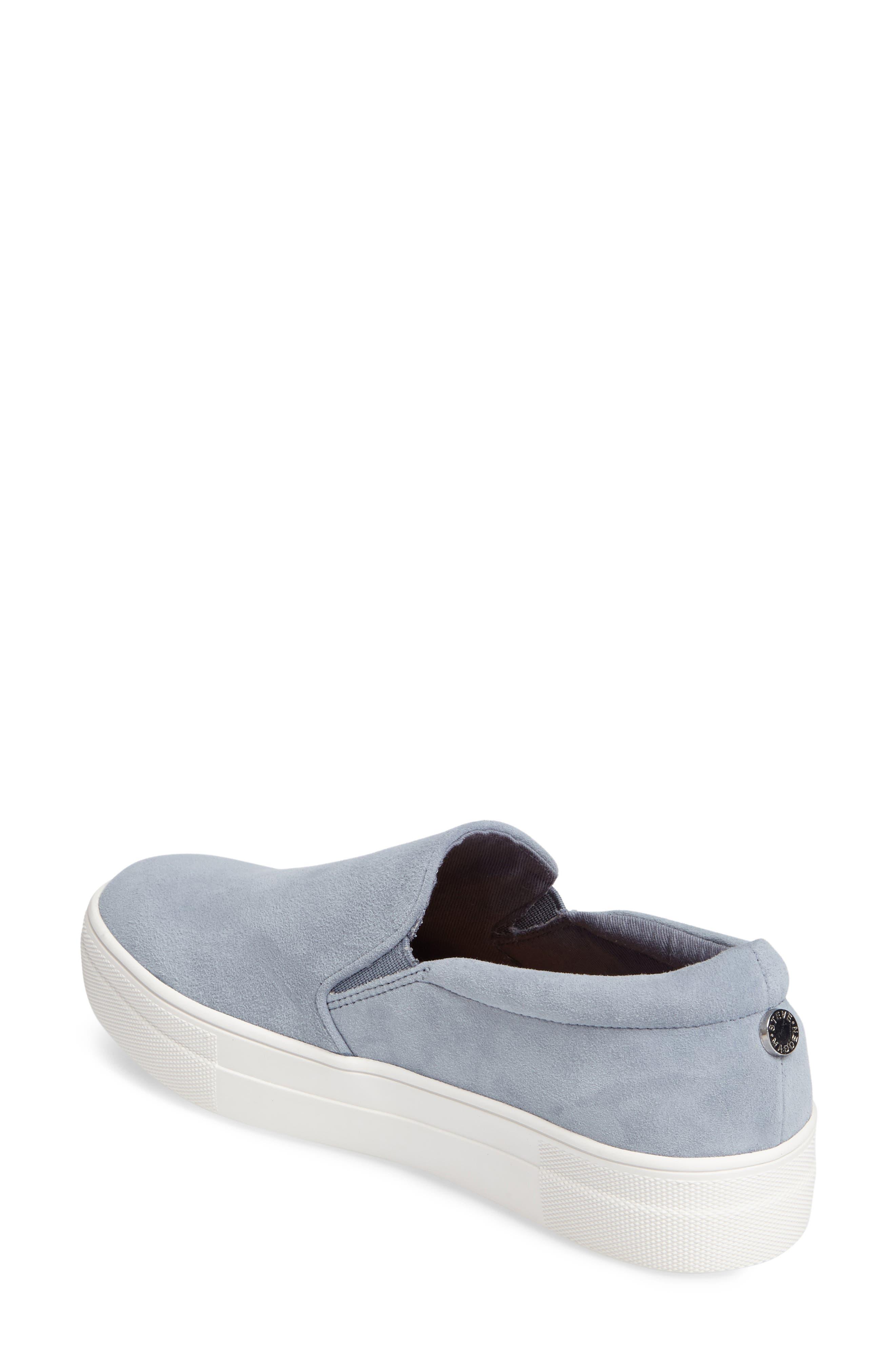 Gills Platform Slip-On Sneaker,                             Alternate thumbnail 2, color,                             Light Blue