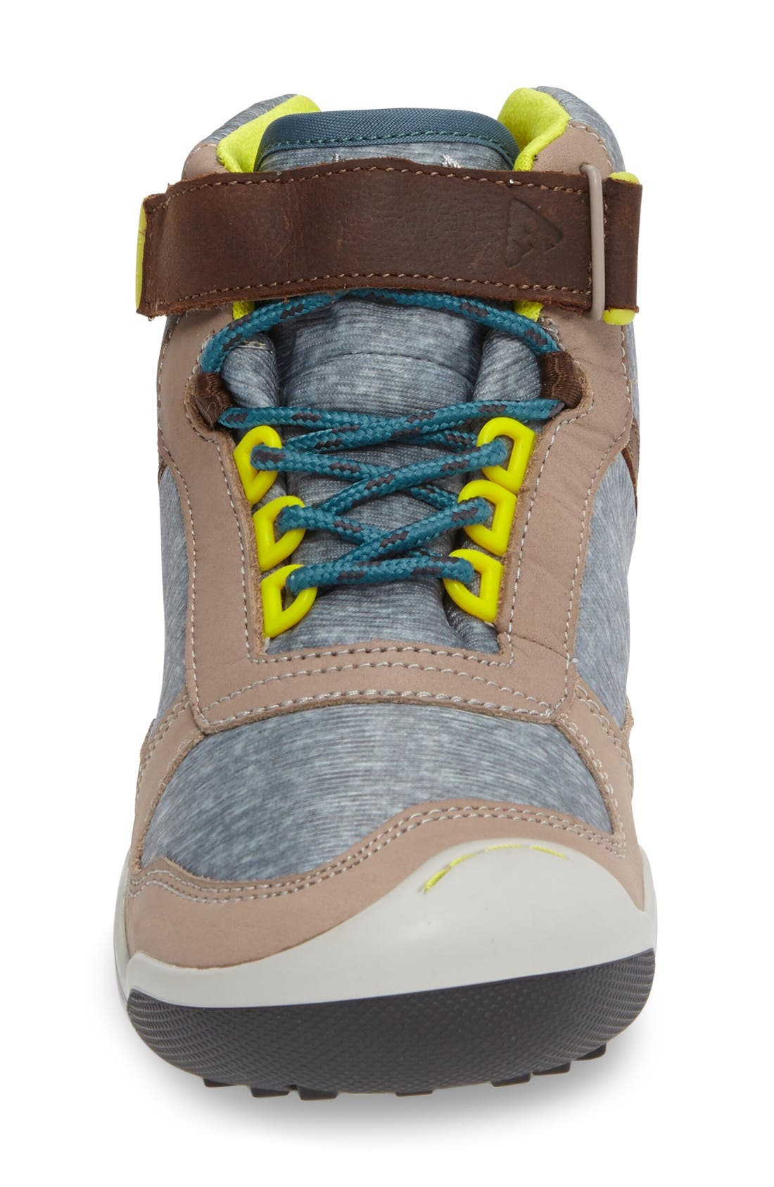 Kaiden Customizable Waterproof Boot,                             Alternate thumbnail 3, color,                             Earth Leather