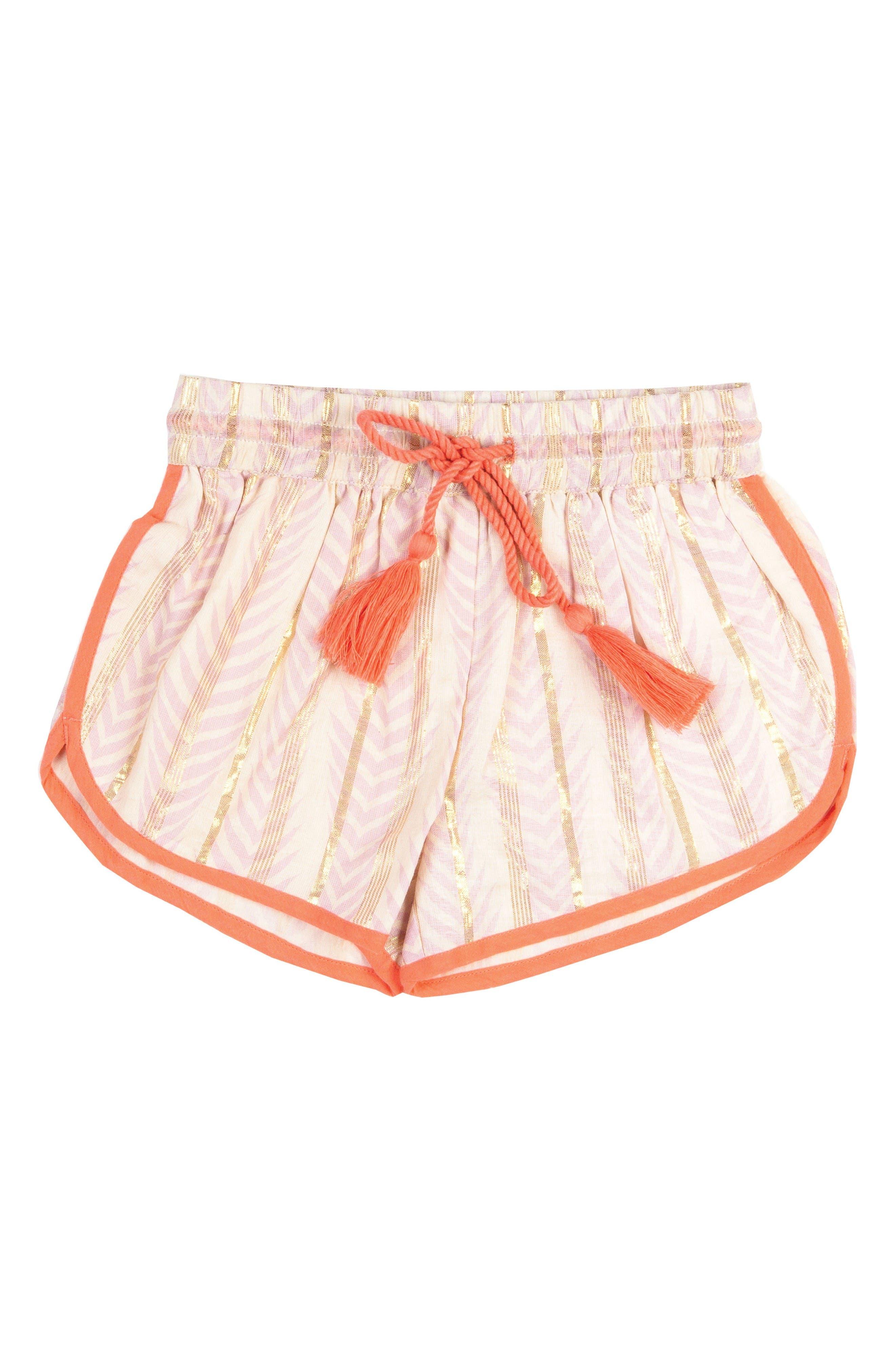 BOWIE X JAMES Print Shorts (Toddler Girls, Little Girls & Big Girls)