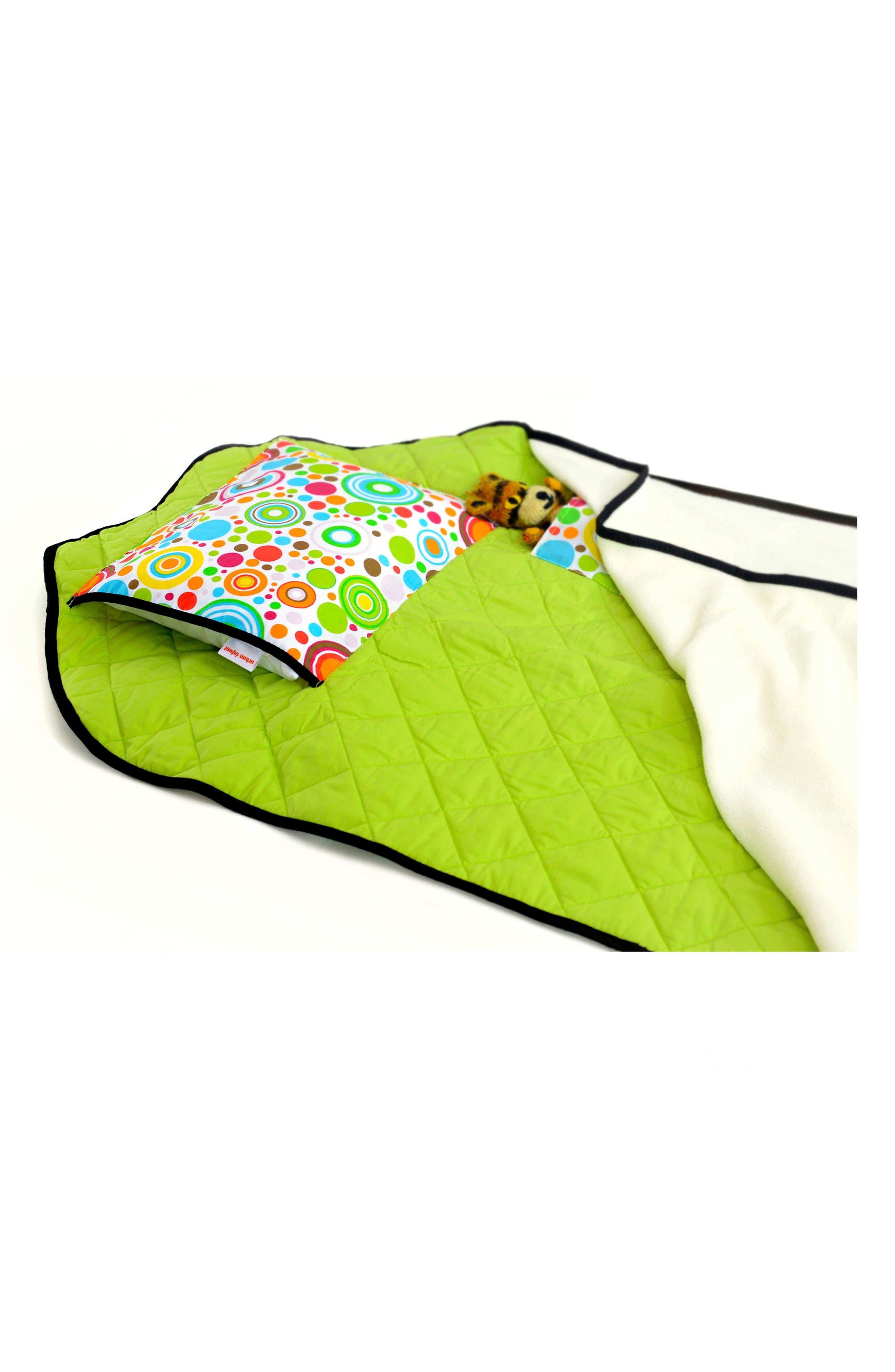 Tot Cot<sup>®</sup> Portable Nap Cot Bedding,                             Alternate thumbnail 3, color,                             Planets