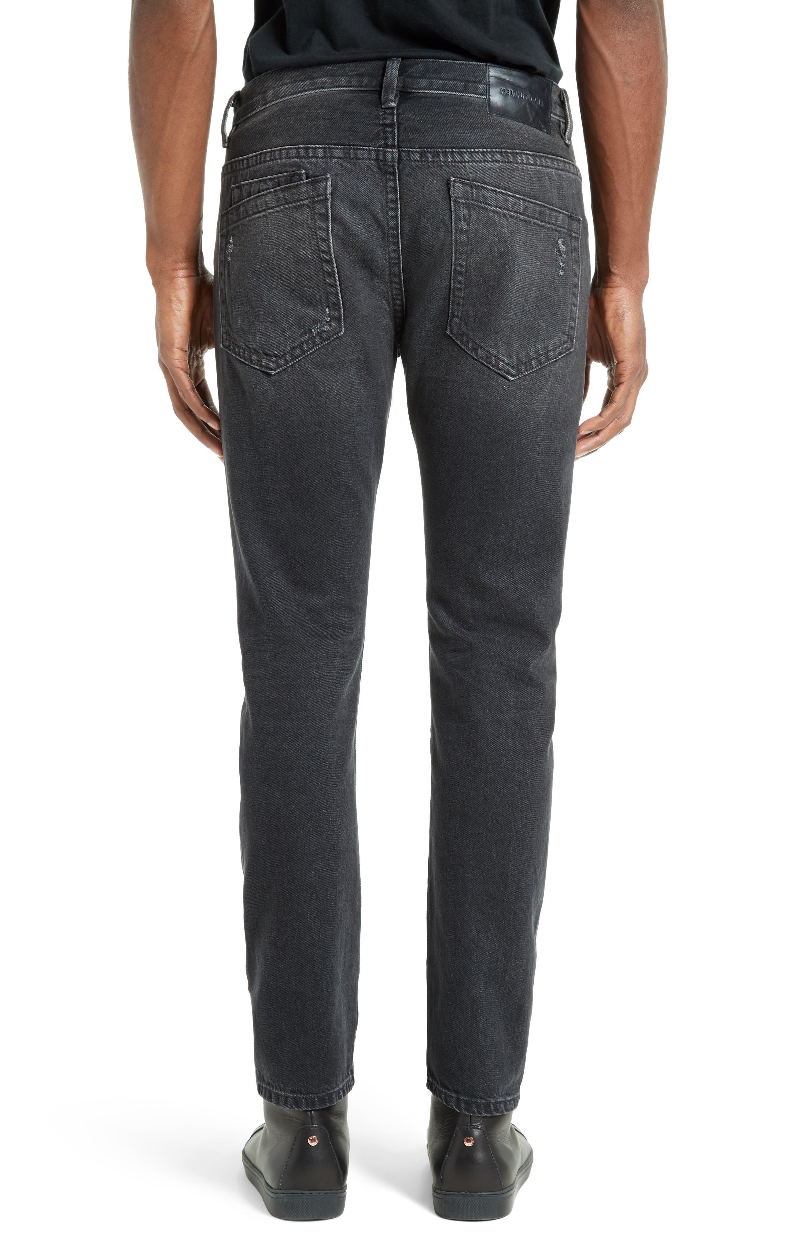 MR87 Destroyed Jeans,                             Alternate thumbnail 2, color,                             Black
