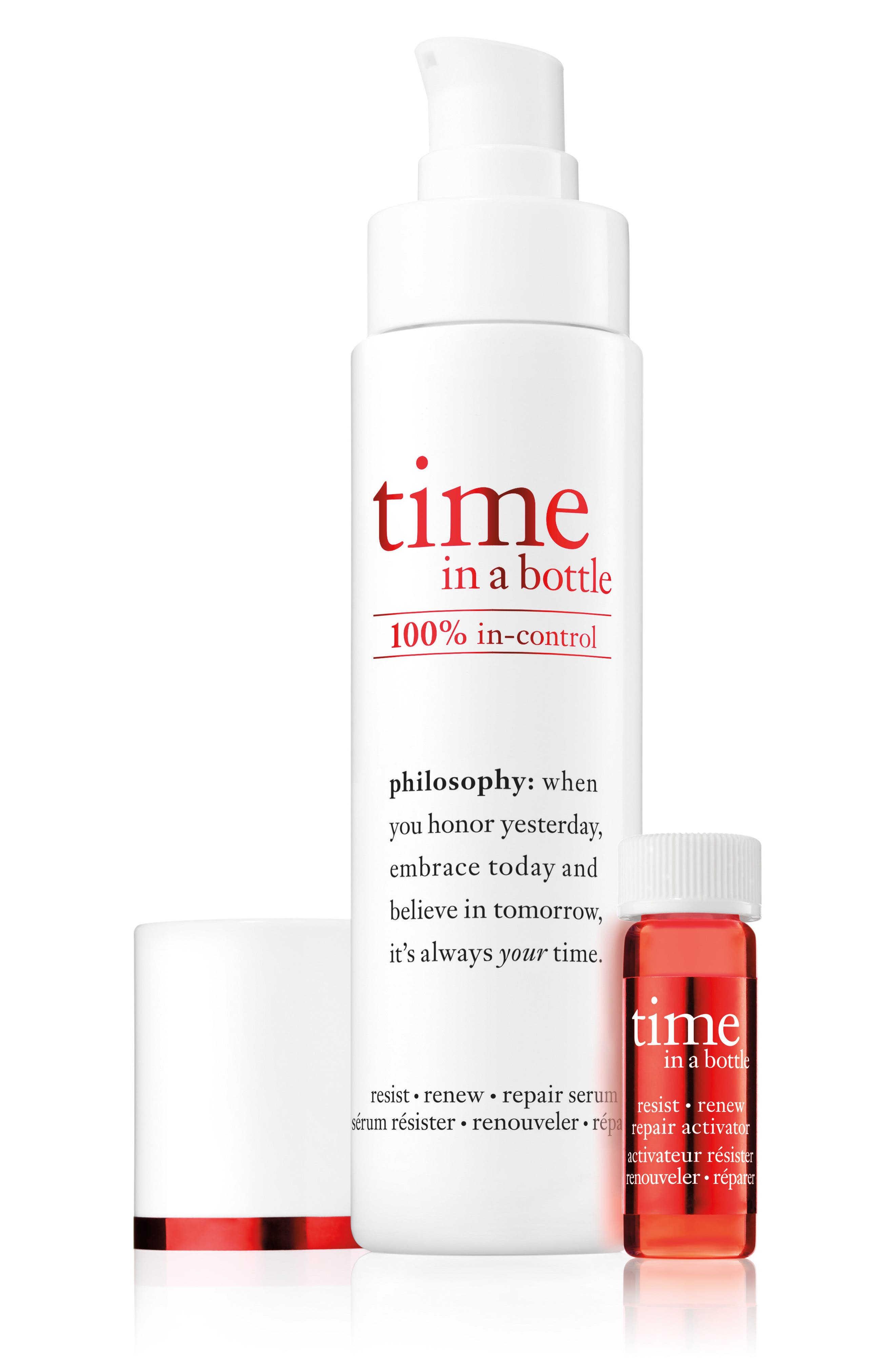 Alternate Image 2  - philosophy time in a bottle face serum