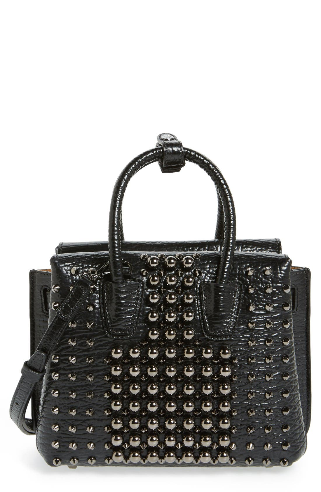 Alternate Image 1 Selected - MCM Mini Milla Studs Leather Tote