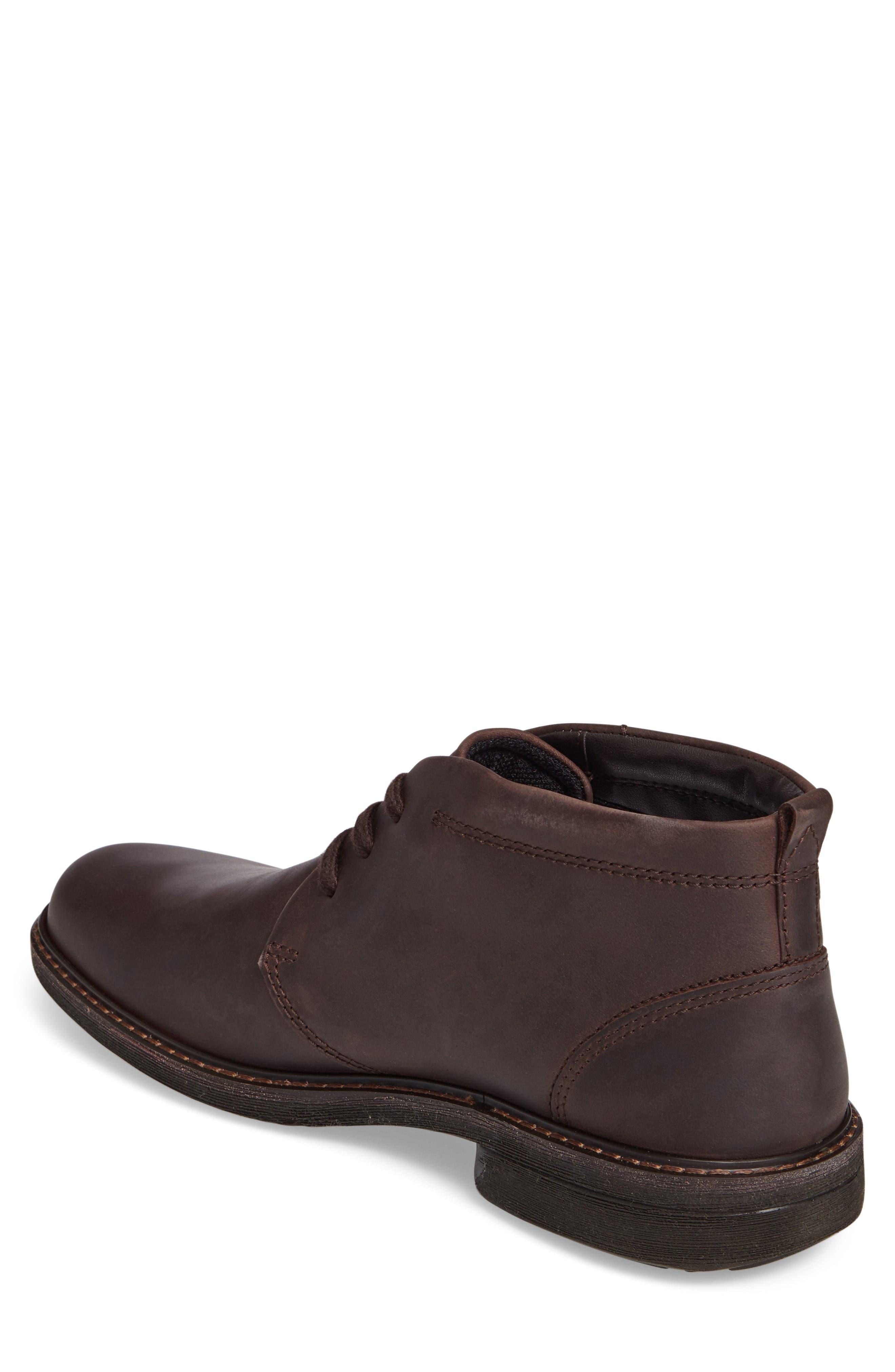 Turn Gore-Tex<sup>®</sup> Waterproof Chukka Boot,                             Alternate thumbnail 2, color,                             Mocha Nubuck Leather