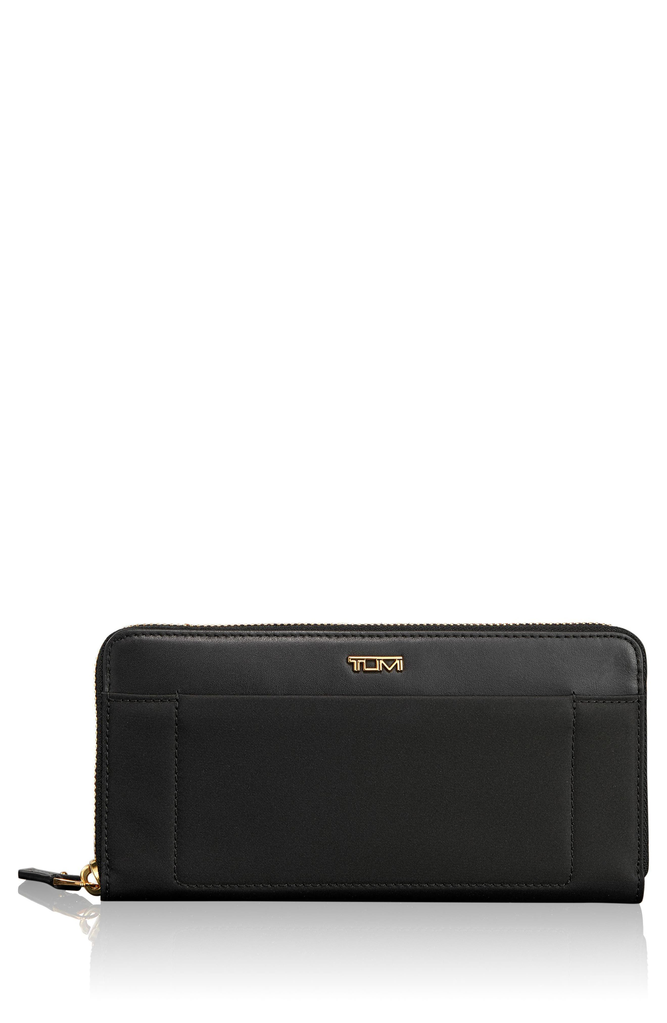 Tumi Continental Zip Tech Wallet