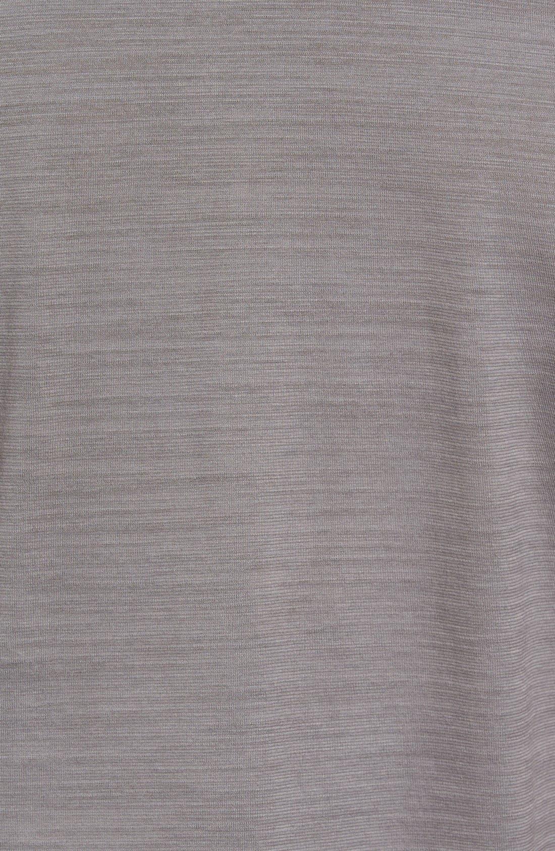 'Pressler' Regular Fit Polo,                             Alternate thumbnail 5, color,                             Grey