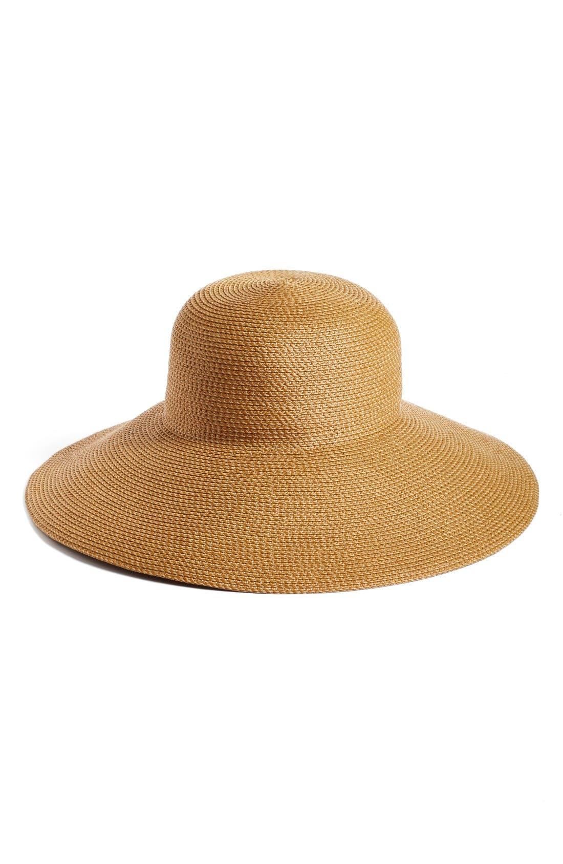 Bella Squishee Sun Hat - Beige in Natural