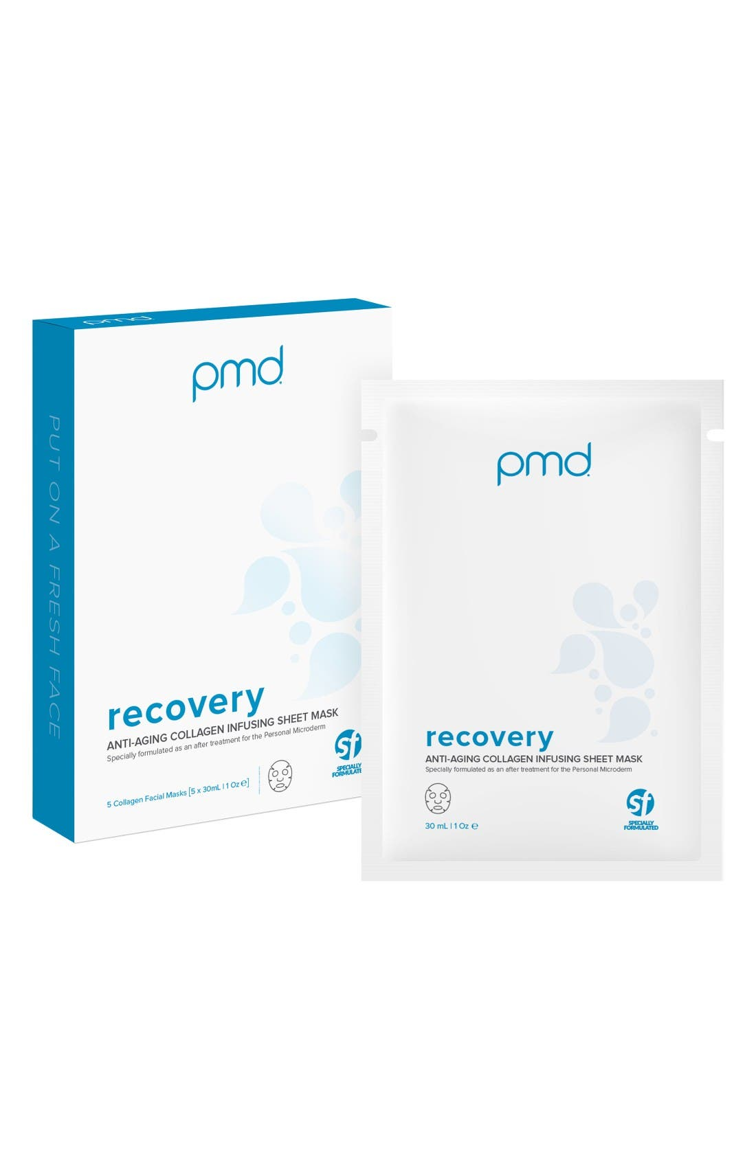 Alternate Image 1 Selected - PMD Recovery Collagen Infusing Facial Mask