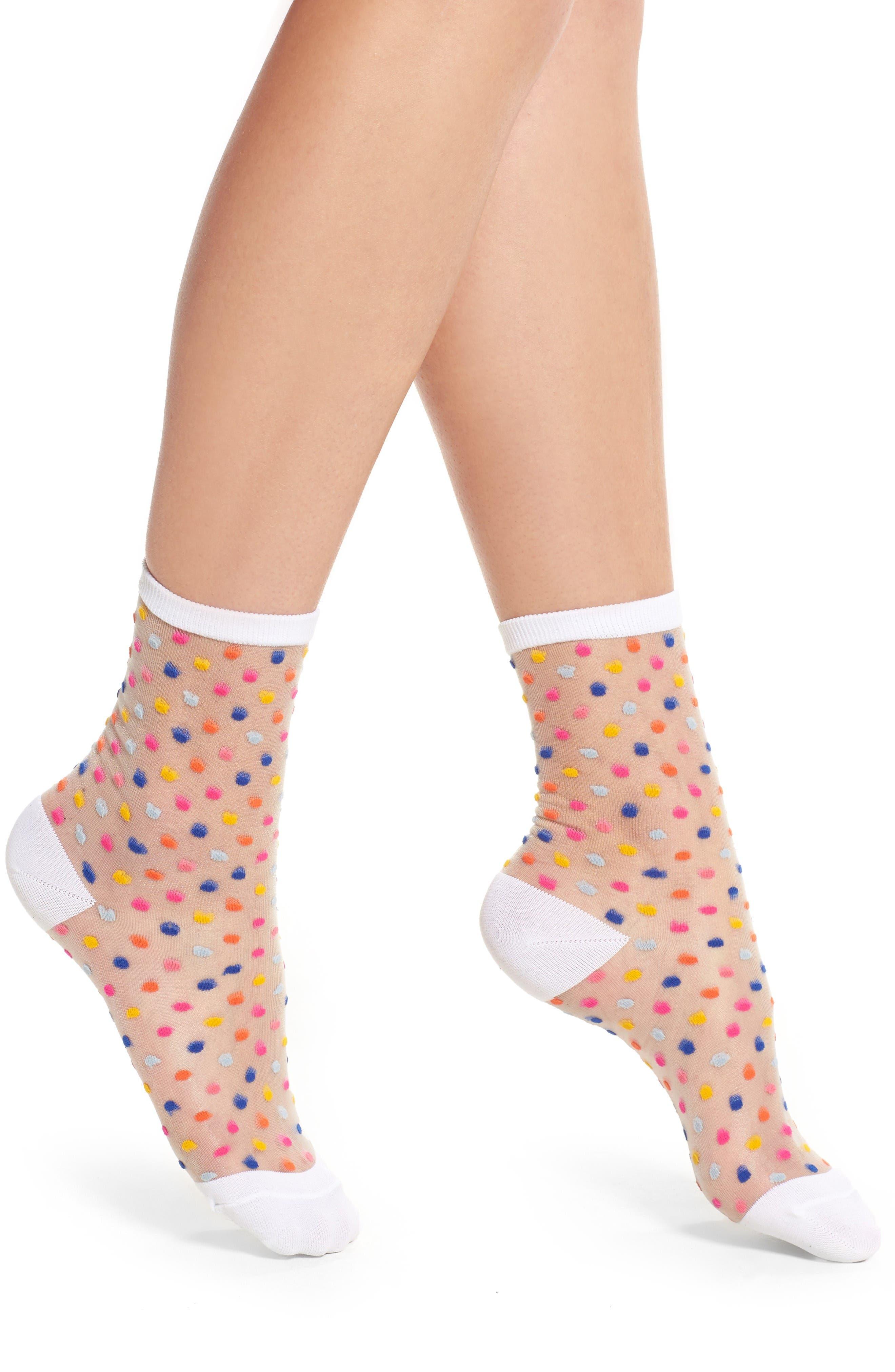 trouser socks,                         Main,                         color, White