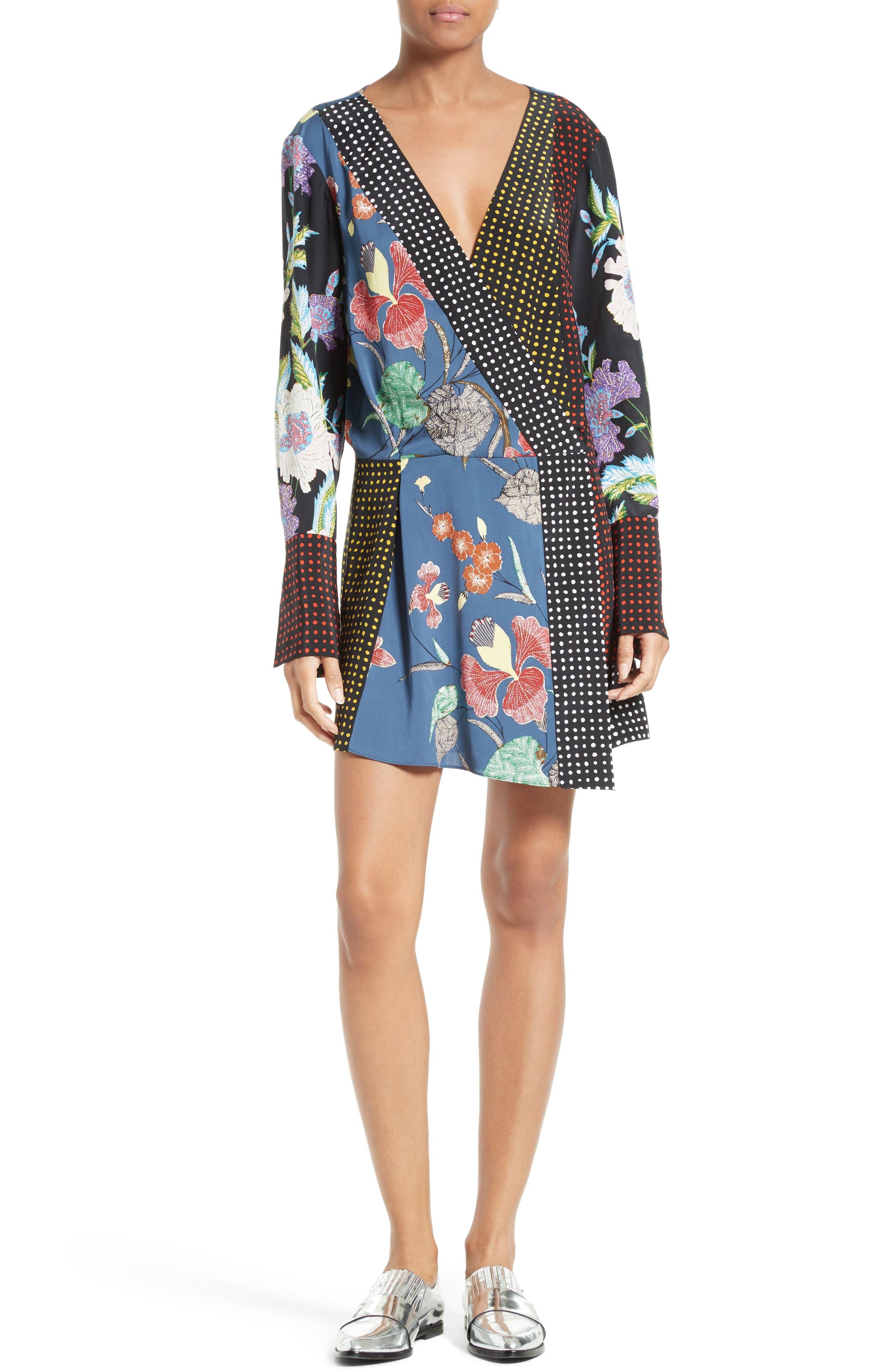 Alternate Image 1 Selected - Diane von Furstenberg Faux Wrap Dress