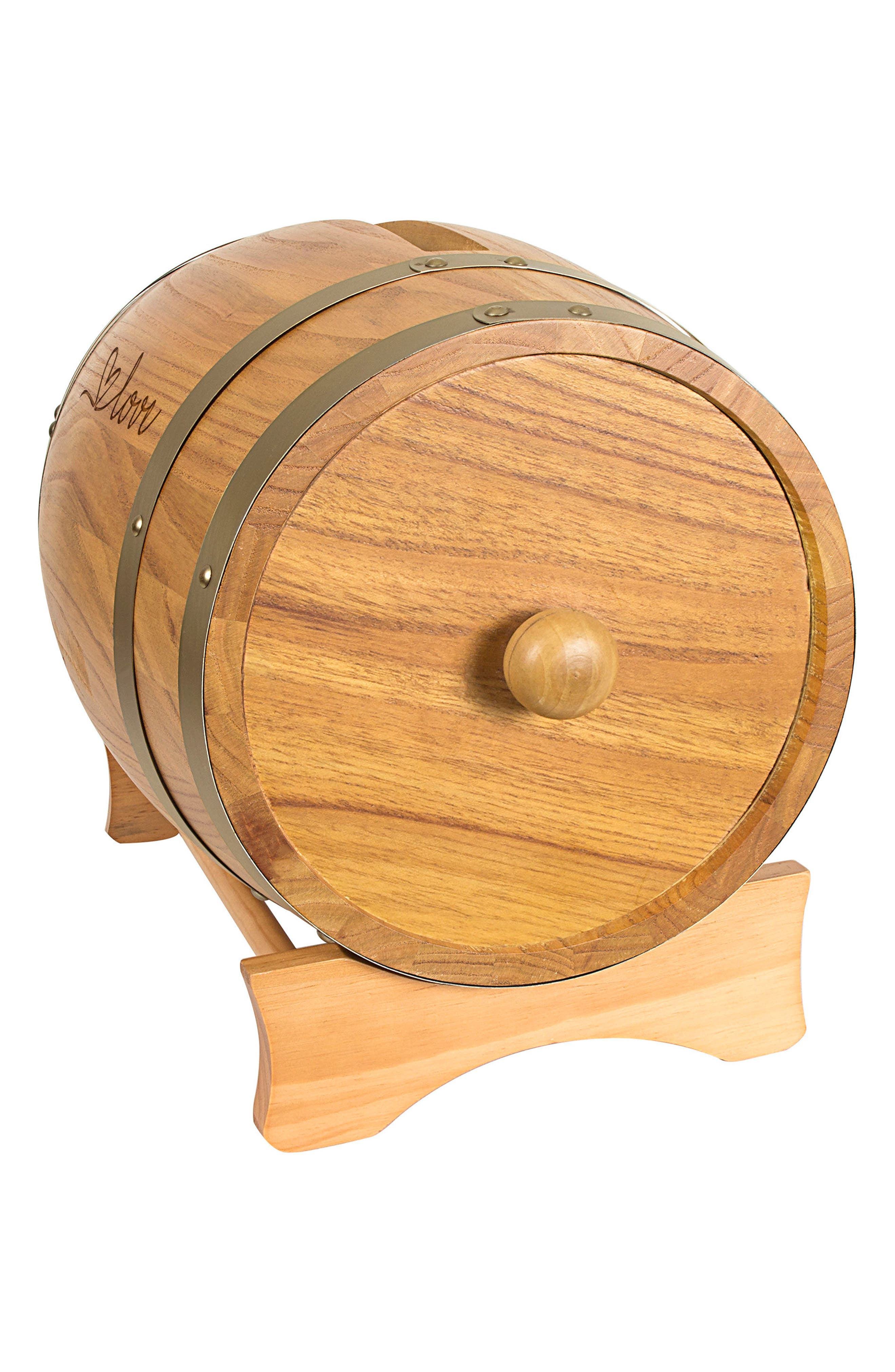 Alternate Image 4  - Cathy's Concepts Wine Barrel Reception Card Holder