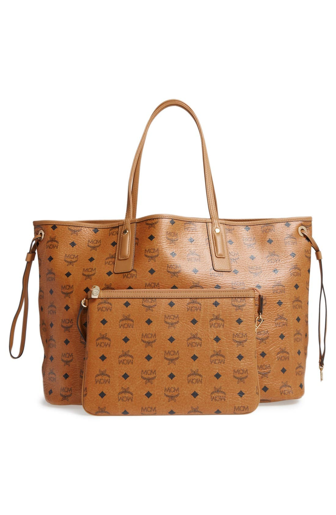 Alternate Image 3  - MCM 'Large Liz' Reversible Shopper