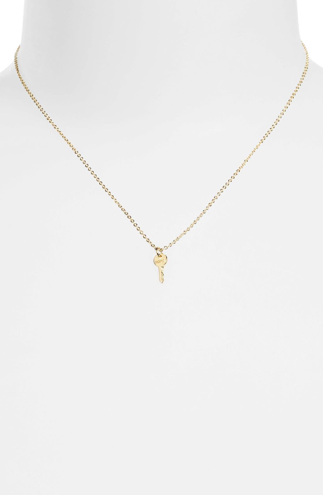 The Giving Keys Hope Mini Key Necklace