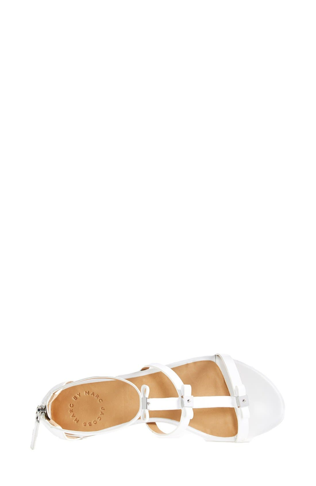 Alternate Image 3  - MARC BY MARC JACOBS Cube Bow Leather Sandal (Women)