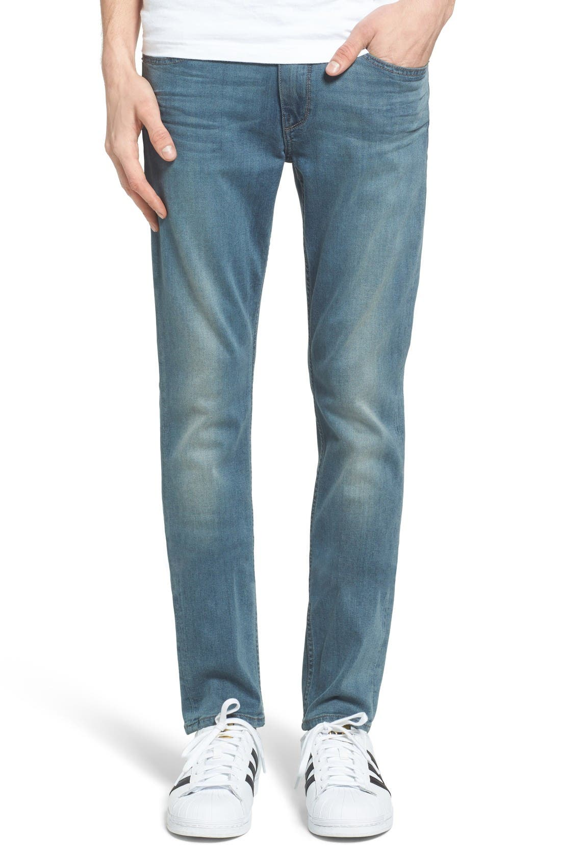 PAIGE Transcend - Lennox Slim Fit Jeans (Nation)
