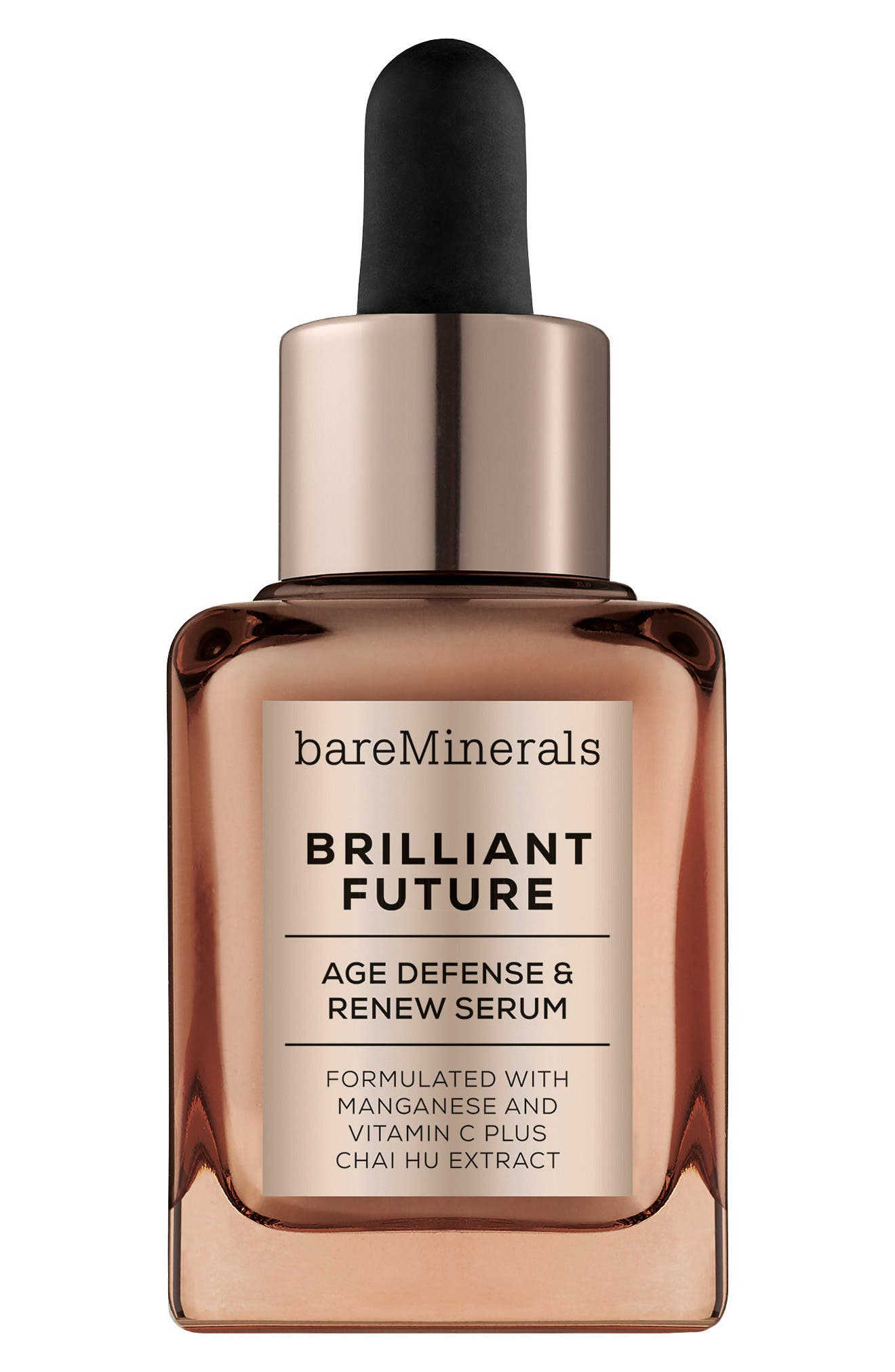 Main Image - bareMinerals® Brilliant Future™ Age Defense & Renew Serum