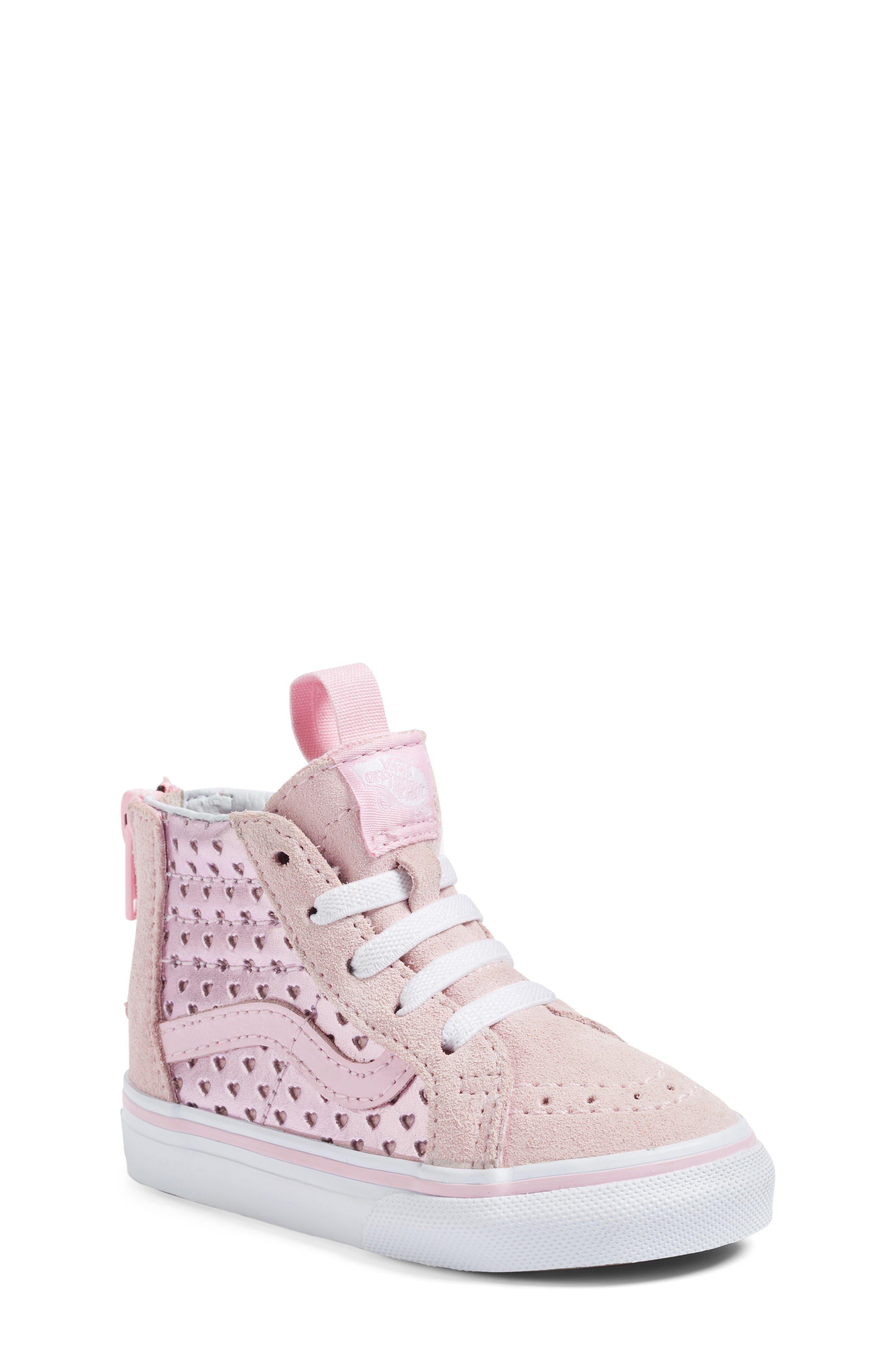 Vans Sk8-Hi Zip Sneaker (Baby, Walker, Toddler, Little Kid & Big Kid)