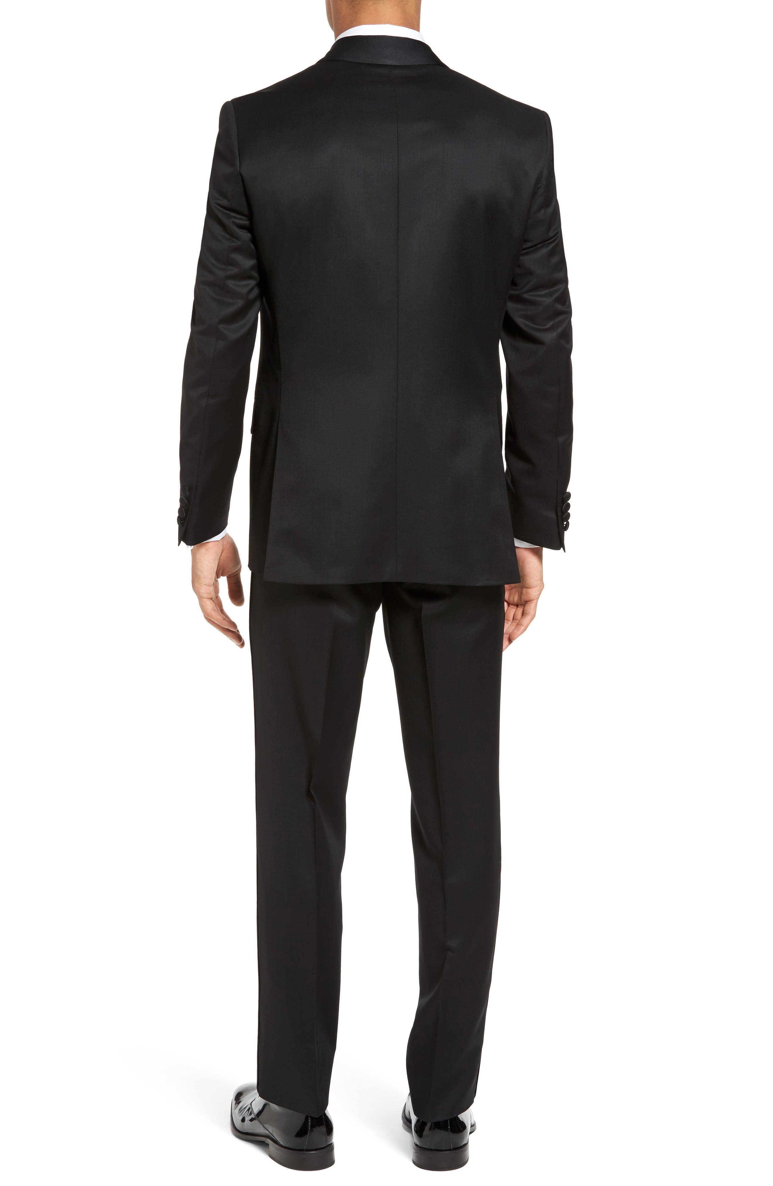 Alternate Image 2  - Ted Baker London Josh Trim Fit Wool & Mohair Tuxedo