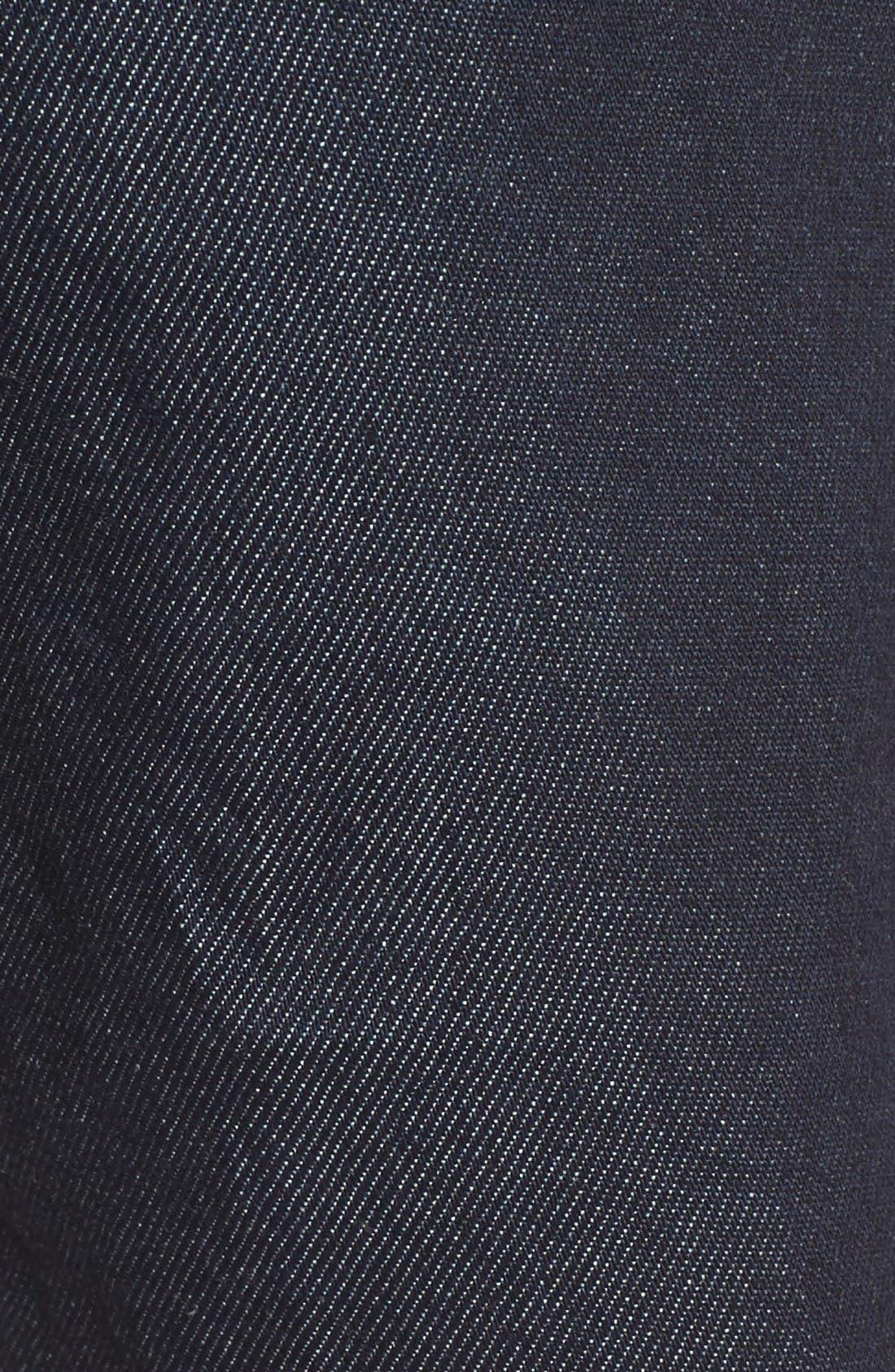 Alternate Image 5  - Fidelity Denim Jimmy Slim Straight Leg Jeans (Halo Rinse)