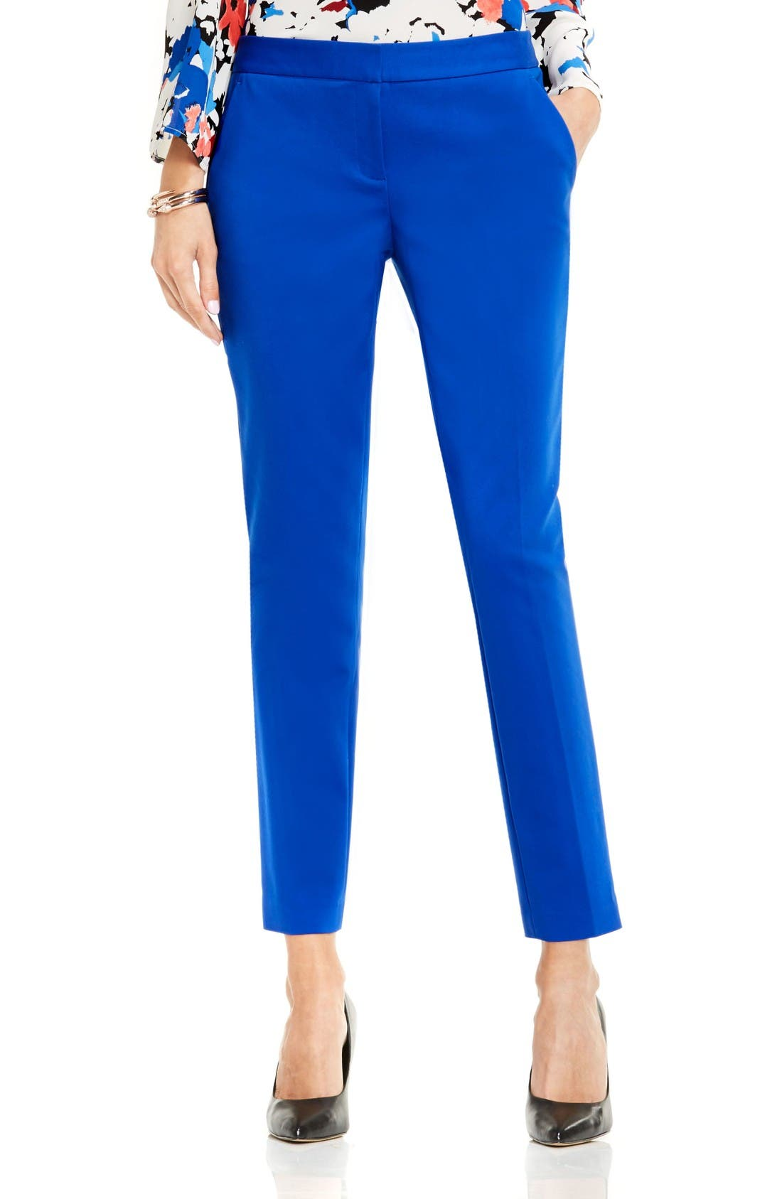 Alternate Image 1 Selected - Vince Camuto Stretch Slim Ankle Pants