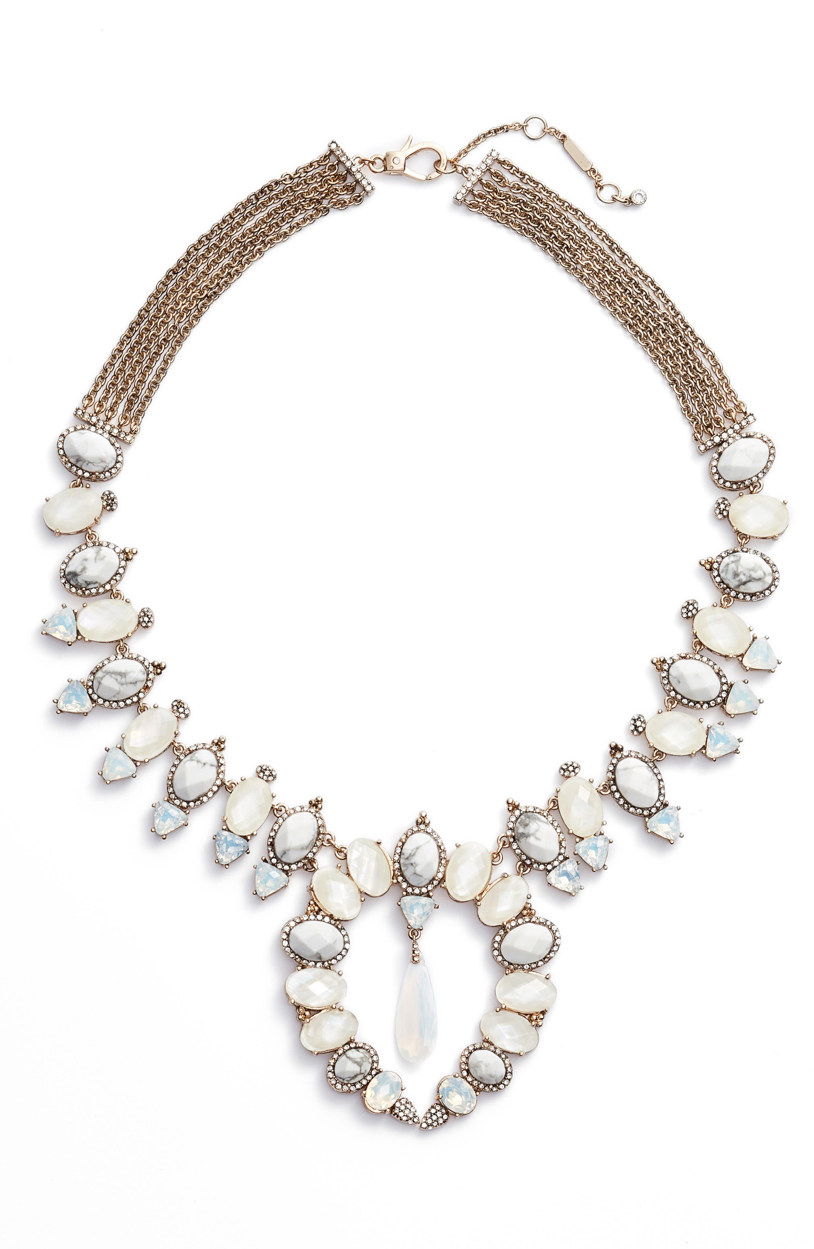 Alternate Image 1 Selected - Jenny Packham Wanderlust Collar Necklace